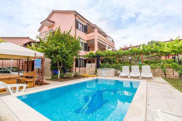 Ferienwohnung mit Pool und Grill (280662), Pula, , Istrien, Kroatien, Bild 3