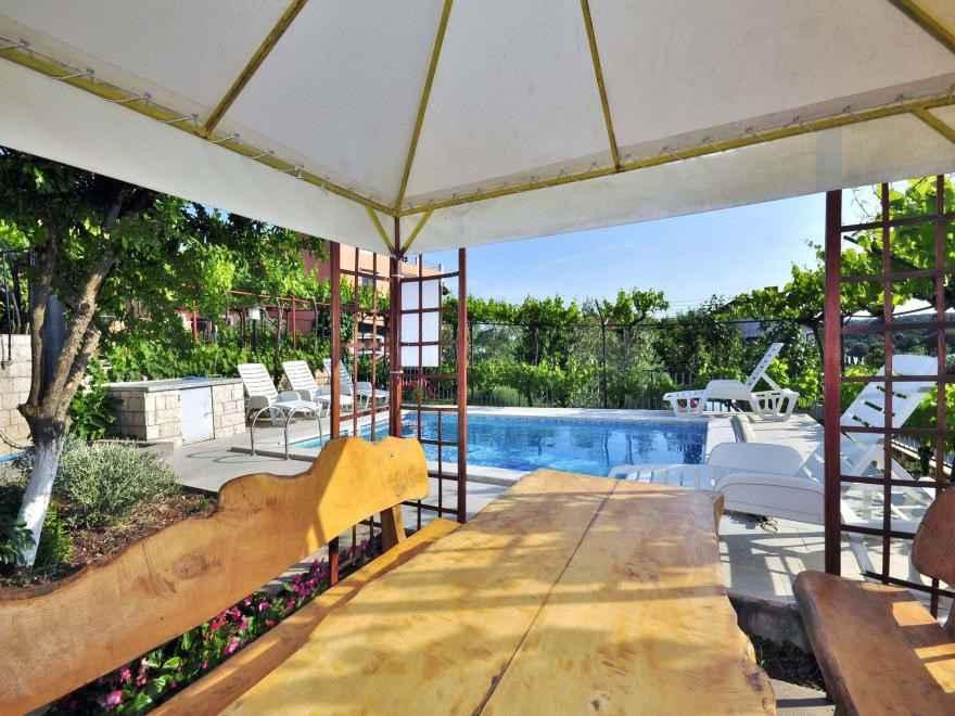 Ferienwohnung mit Pool und Grill (280662), Pula, , Istrien, Kroatien, Bild 12