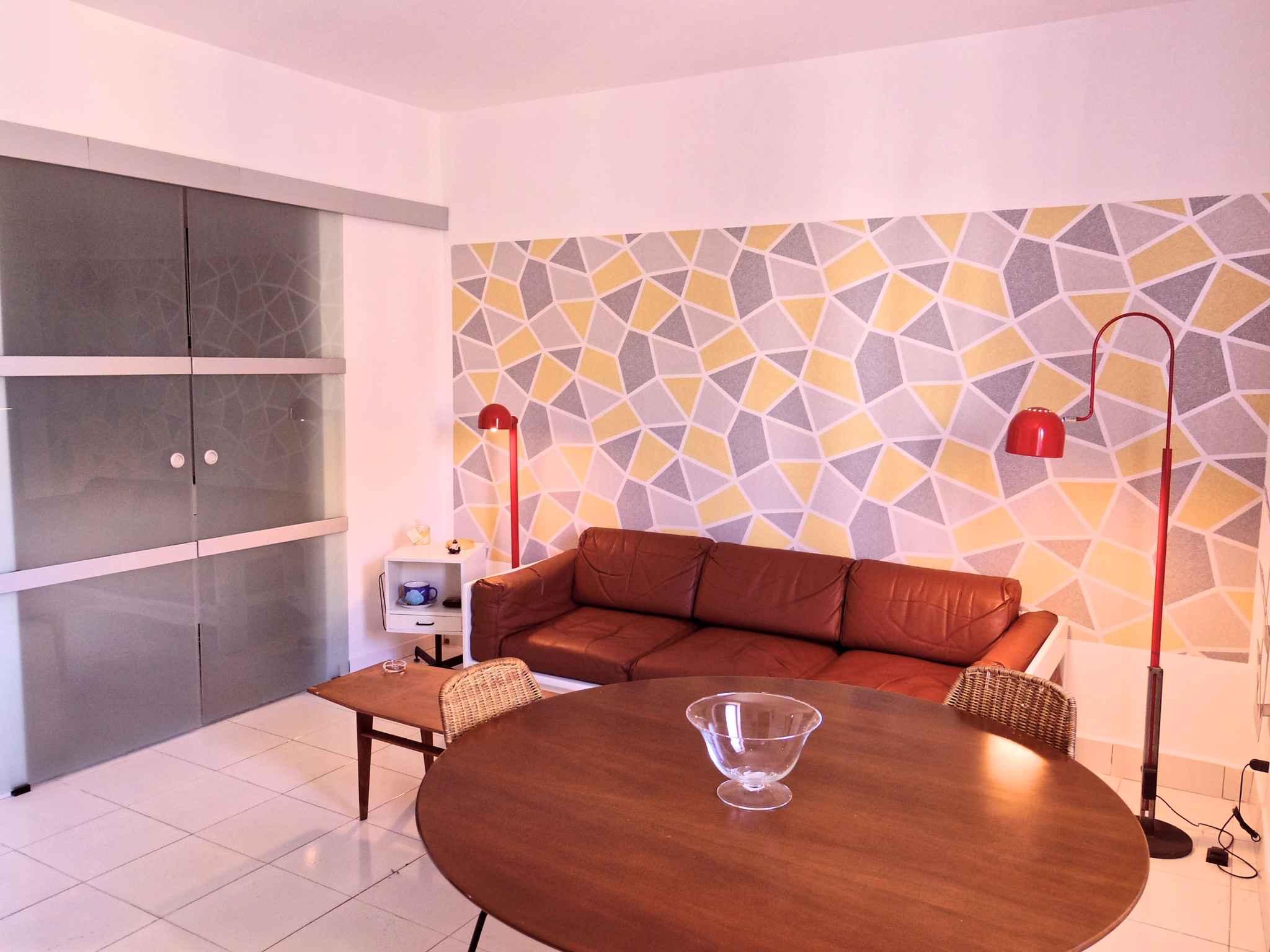 Ferienhaus Casa vacanze con aria condizionata e mobili di design anni 70