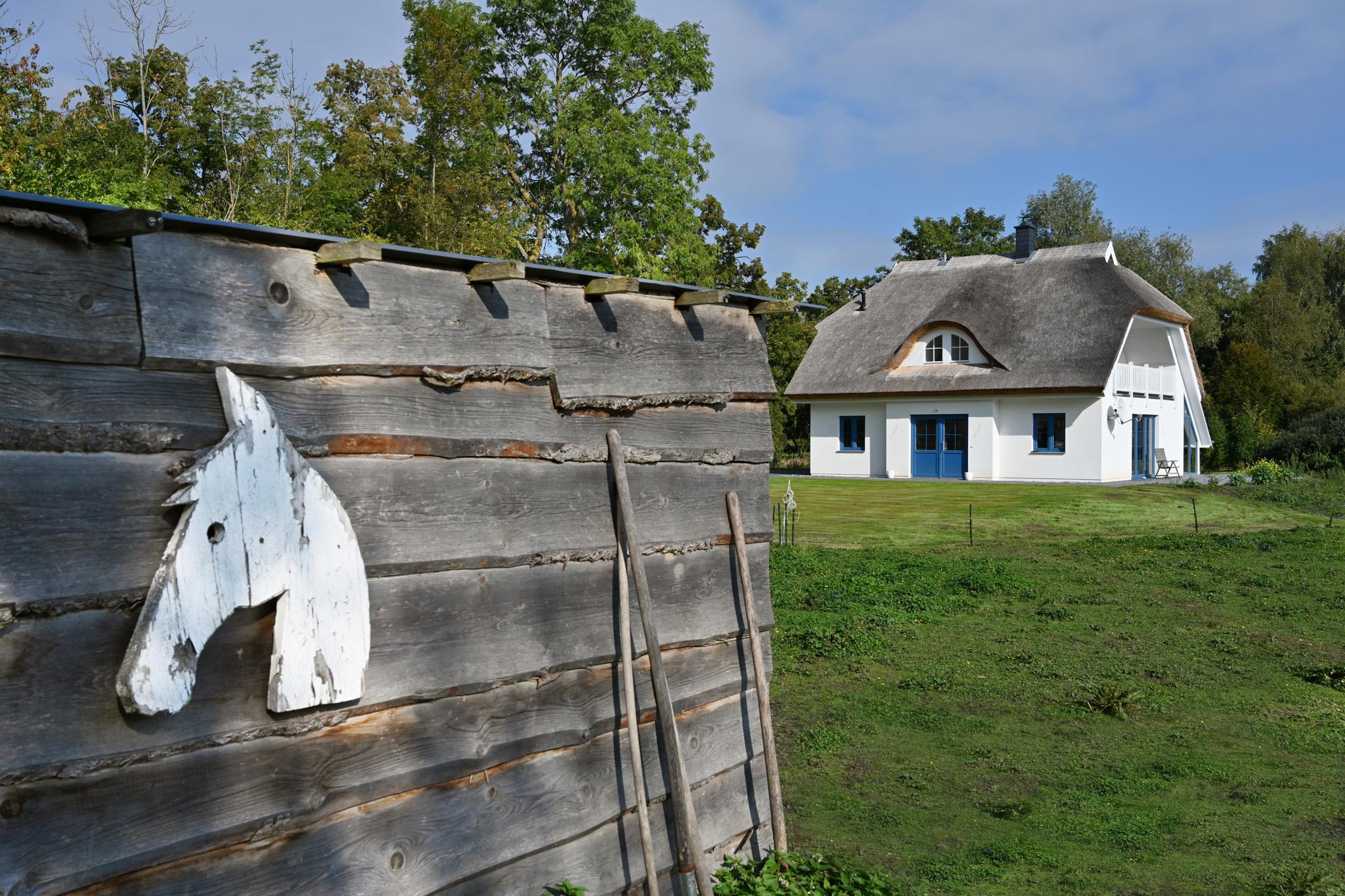 Ferienhaus mit Reetdach, großem Grundstück und Privatweg zum Hafen (2879480), Poseritz, Rügen, Mecklenburg-Vorpommern, Deutschland, Bild 6