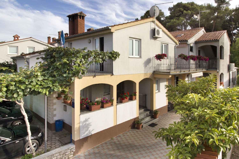 Ferienwohnung mit schöner Terrasse  in Istrien
