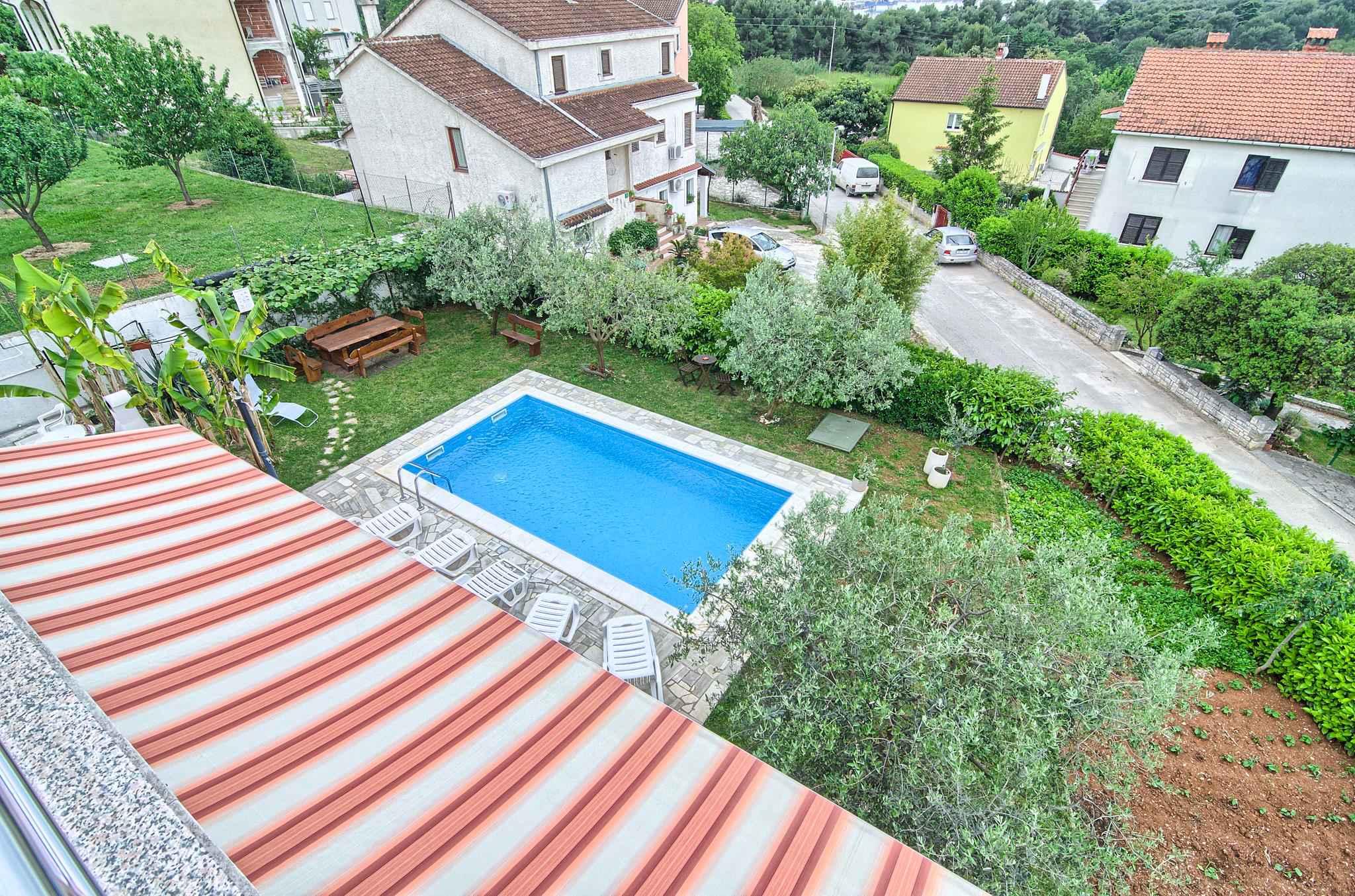 Ferienwohnung mit Pool und 32 qm Terrasse (280631), Pula, , Istrien, Kroatien, Bild 4
