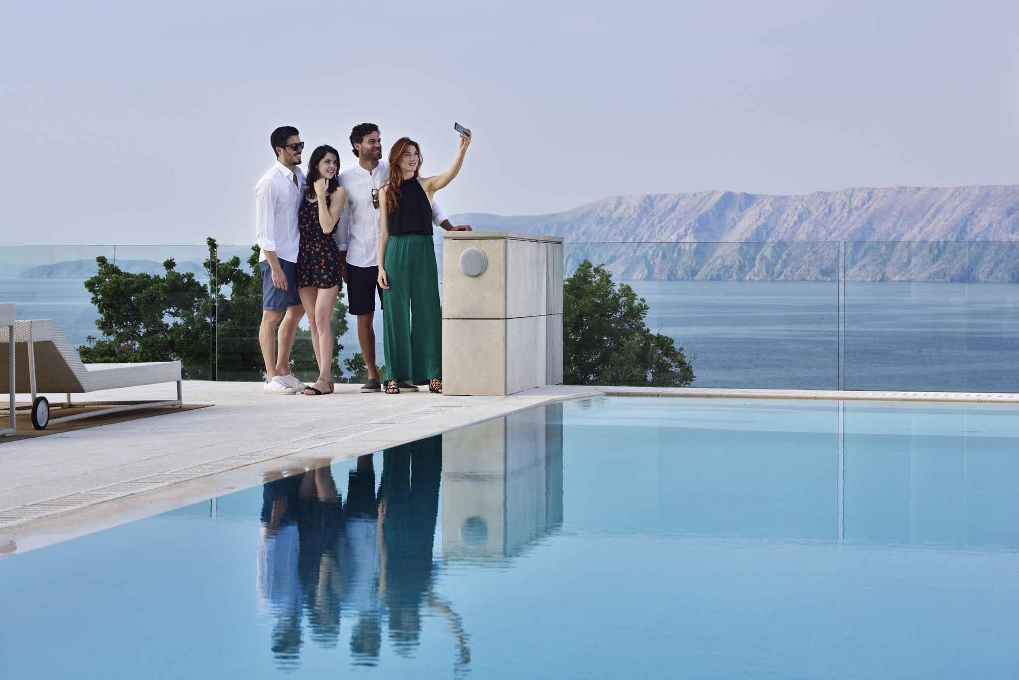 Ferienwohnung Premium Family mit Meerblick****  in Kroatien