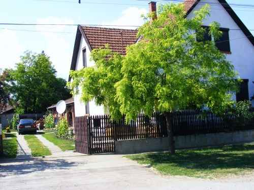 Ferienhaus mit Garten, Grill und Pavillon