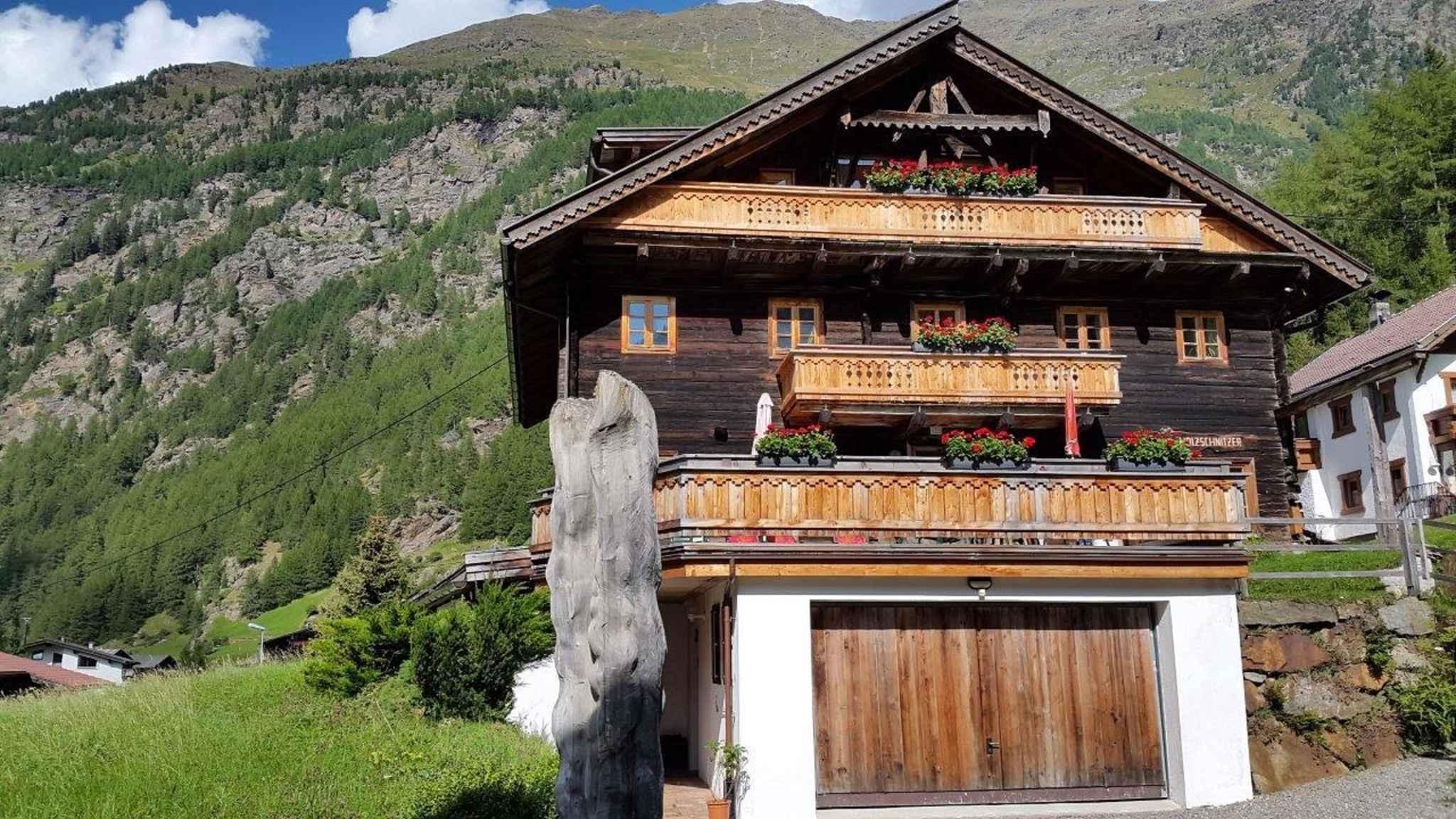 Ferienwohnung in einem über 300 Jahre alten Holzhaus (283708), Sölden (AT), Ötztal, Tirol, Österreich, Bild 4