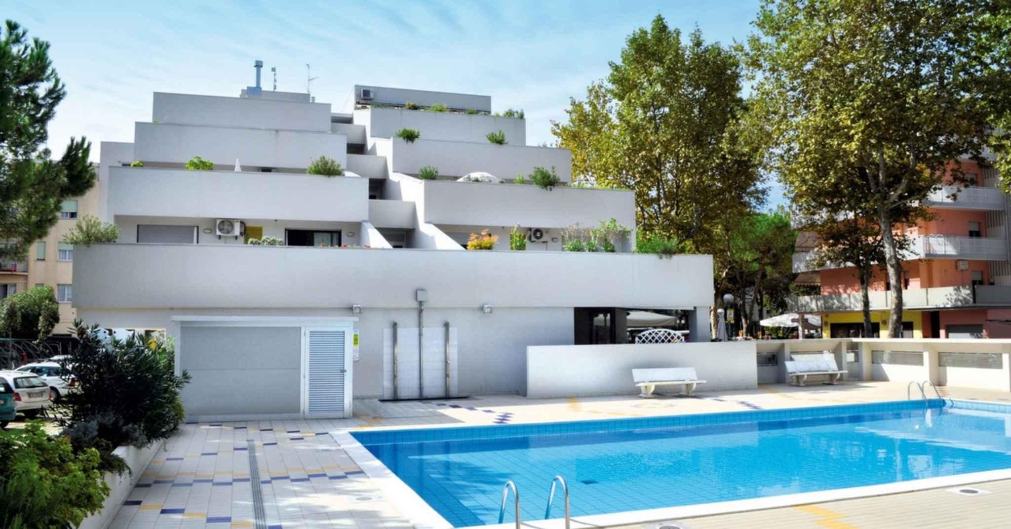 Ferienwohnung mit überdachter Terrasse