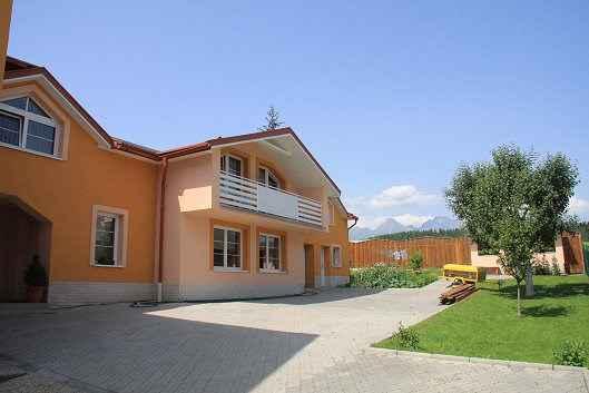 Ferienhaus mit Außenkamin