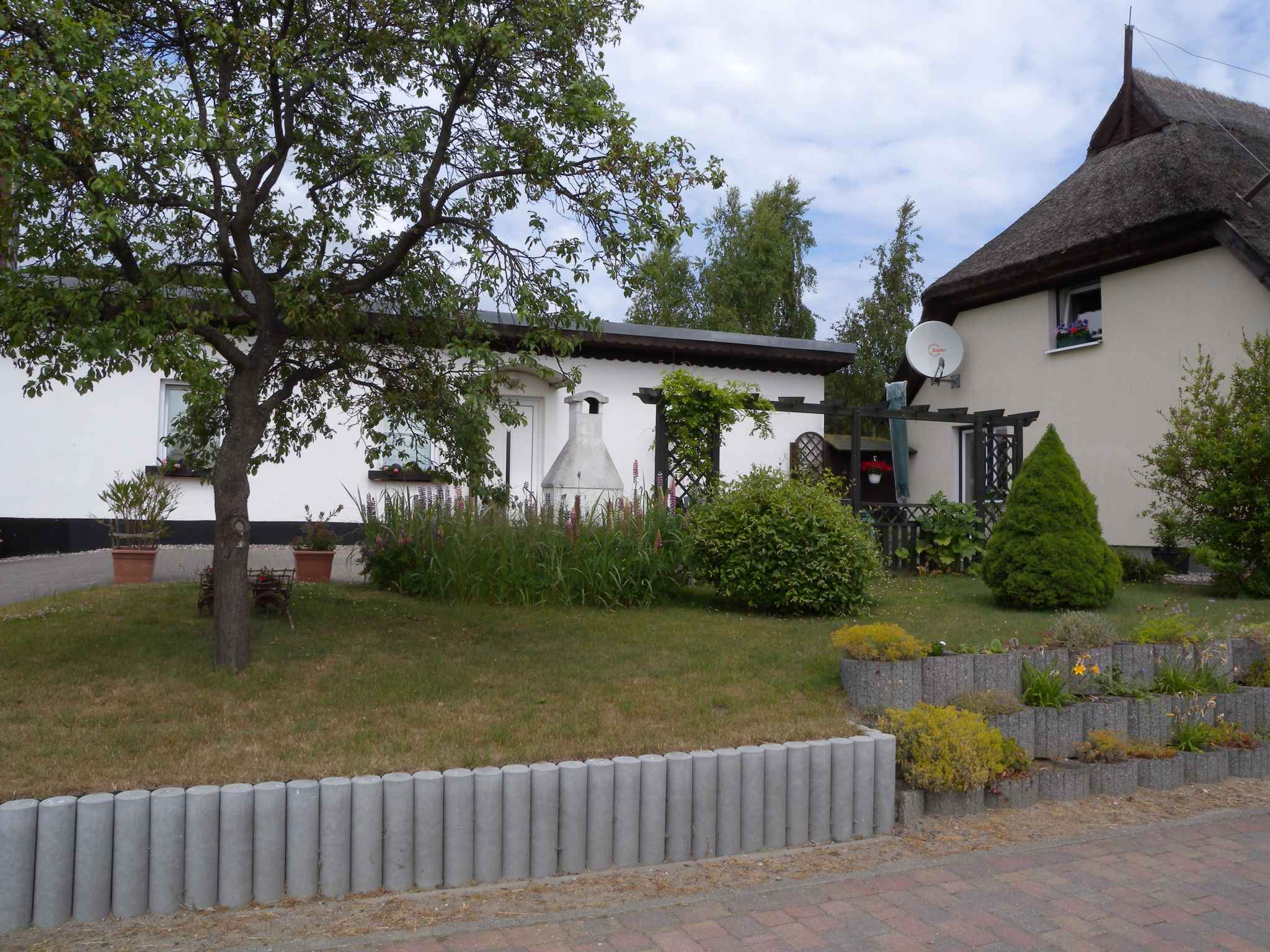 Ferienhaus mit Grillterrasse, an der Granitz