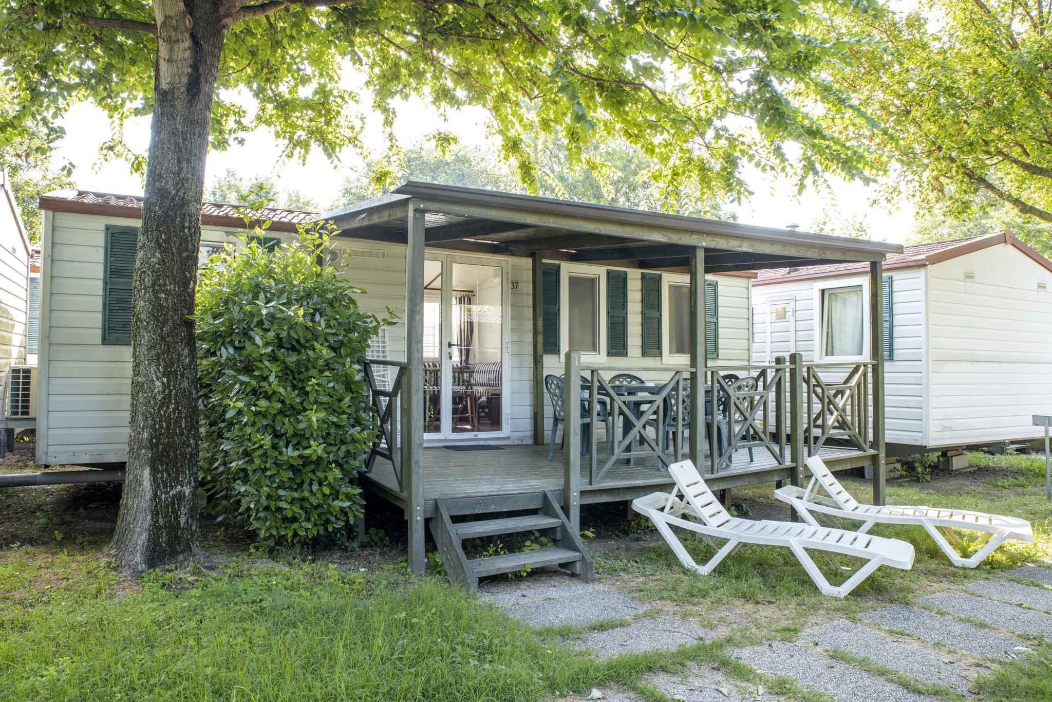 Mobilehome mit Klimaanlage Ferienhaus  Gardasee - Lago di Garda