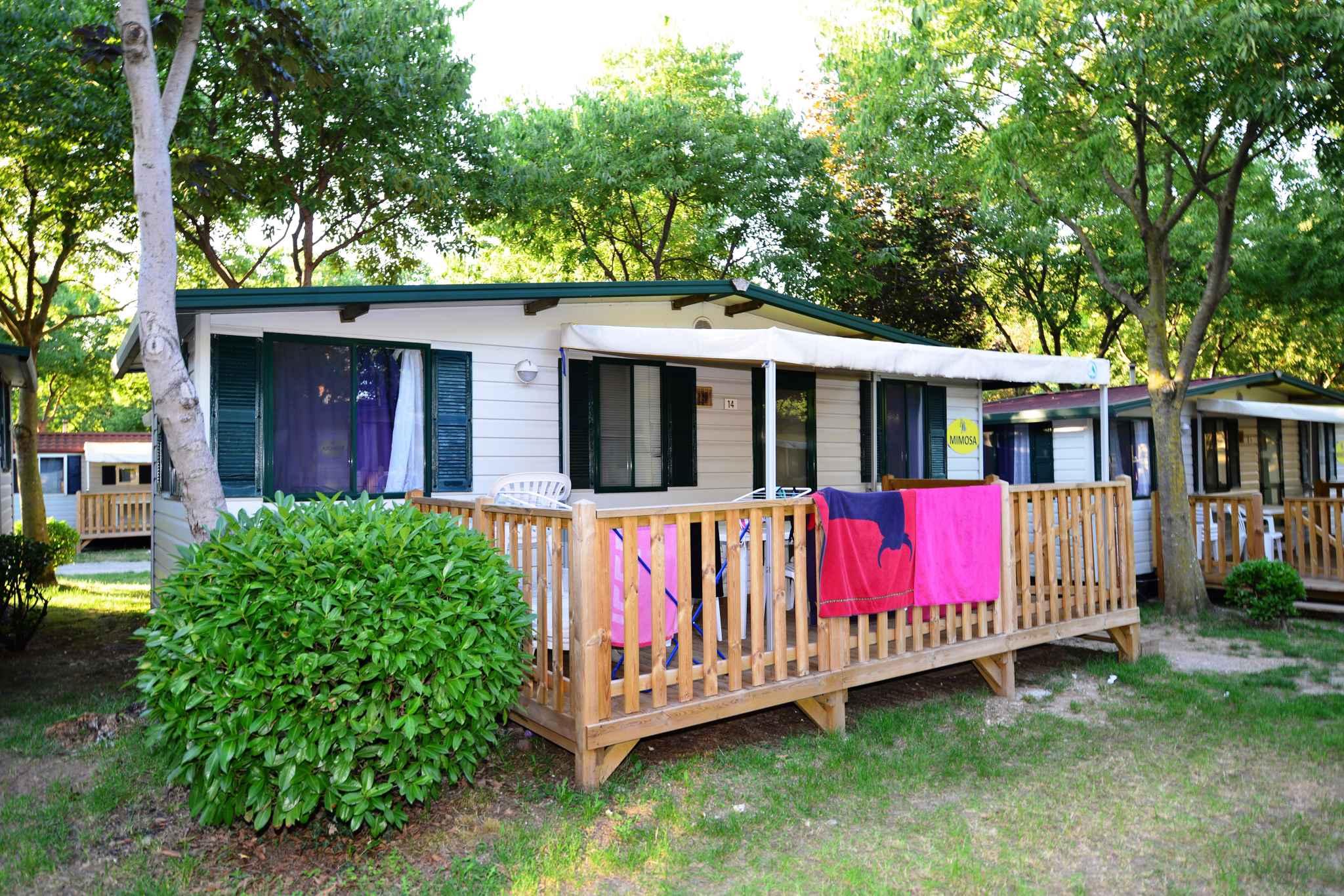 Mobilehome auf einem Campingplatz Ferienhaus  Peschiera del Garda