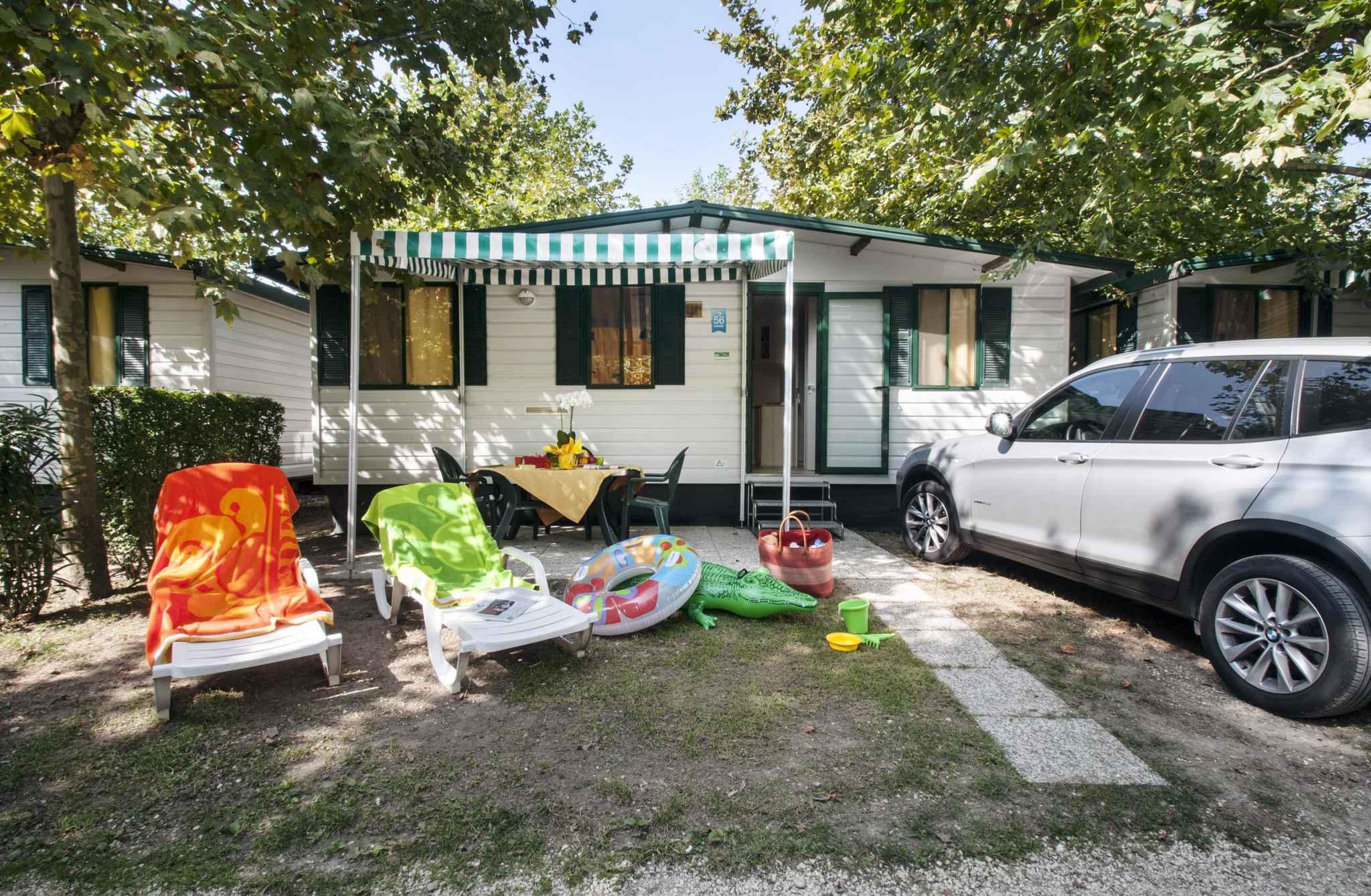 Mobilehome in der Ferienanlage Camping Butterfly * Ferienhaus  Gardasee - Lago di Garda