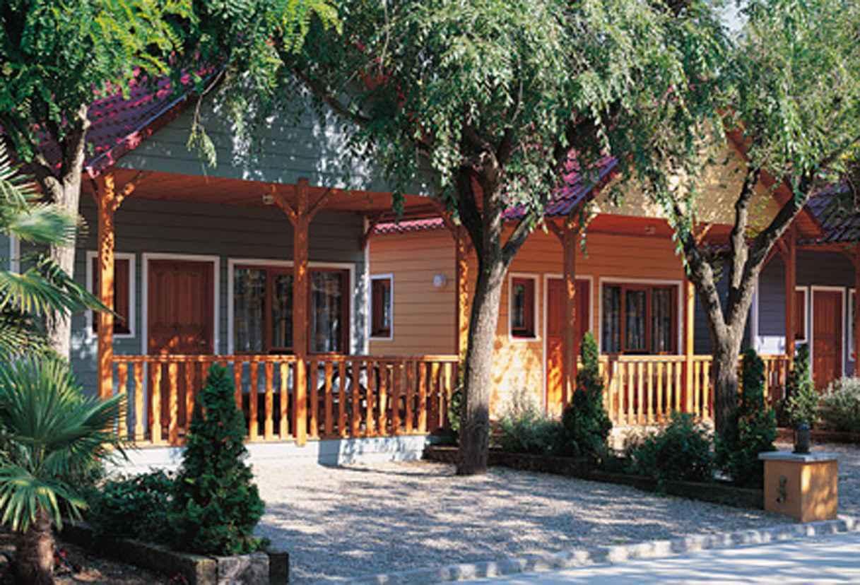 Ferienhaus Campingplatz SOLMAR 200 m bis zum Mitte
