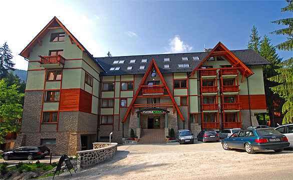 Hotelapartment nur 50 m vom Lift in der Ferienanlage Fatrapark
