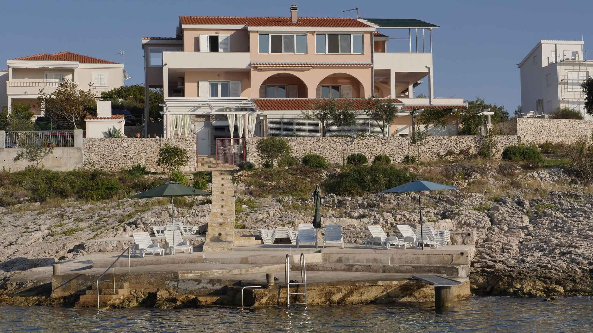 Studio direktno na moru  in Kroatien