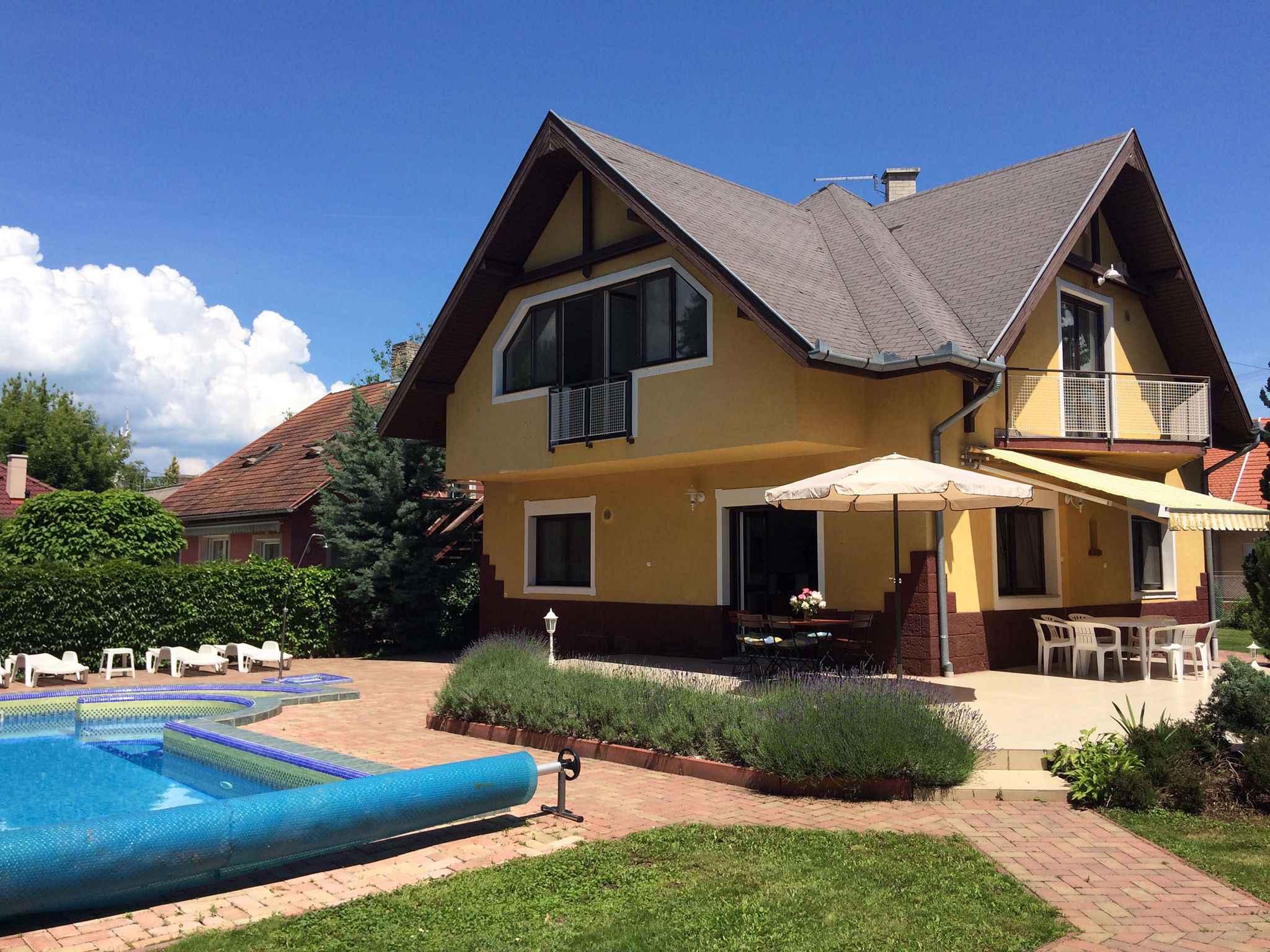 Ferienwohnung mit Pool- und Saunanutzung