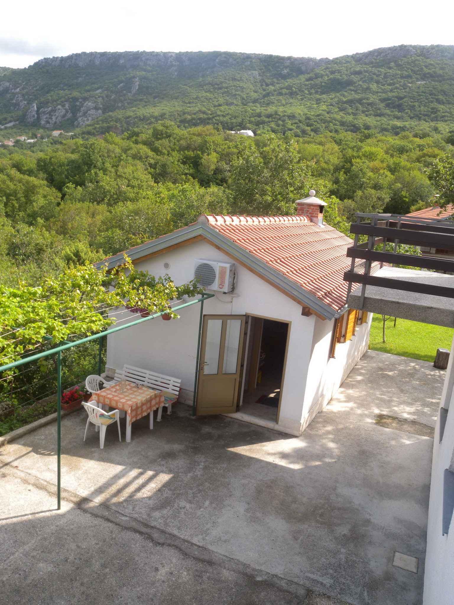 Appartement de vacances s ljetnom kuhinjom i bazenom (648047), Grižane, , Kvarner, Croatie, image 11