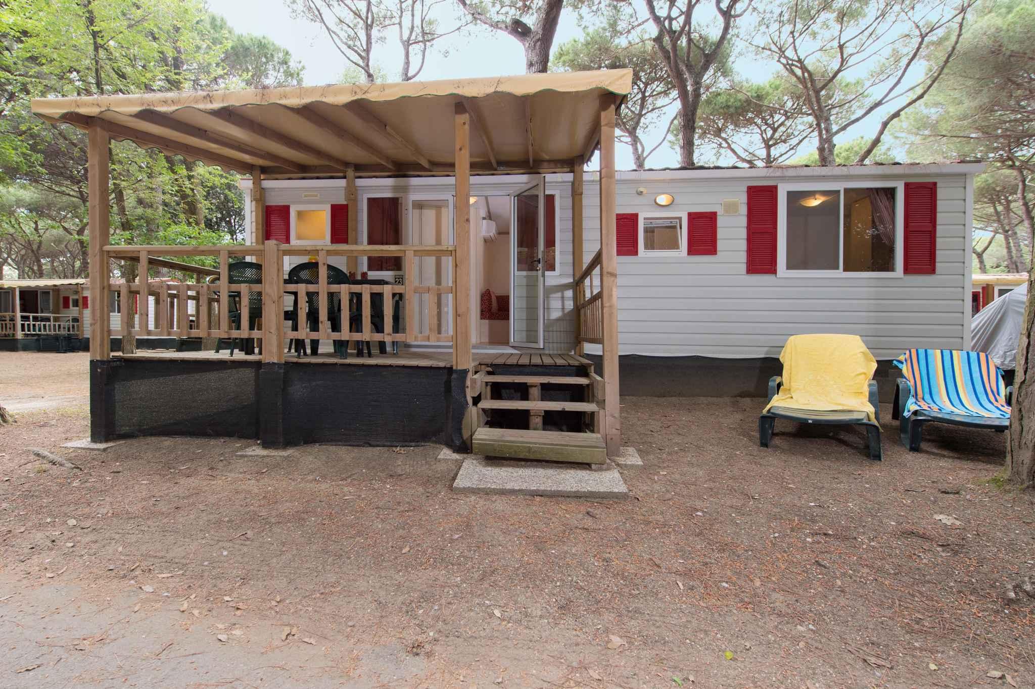 Mobilehome mit Klimaanlage Ferienhaus in Italien