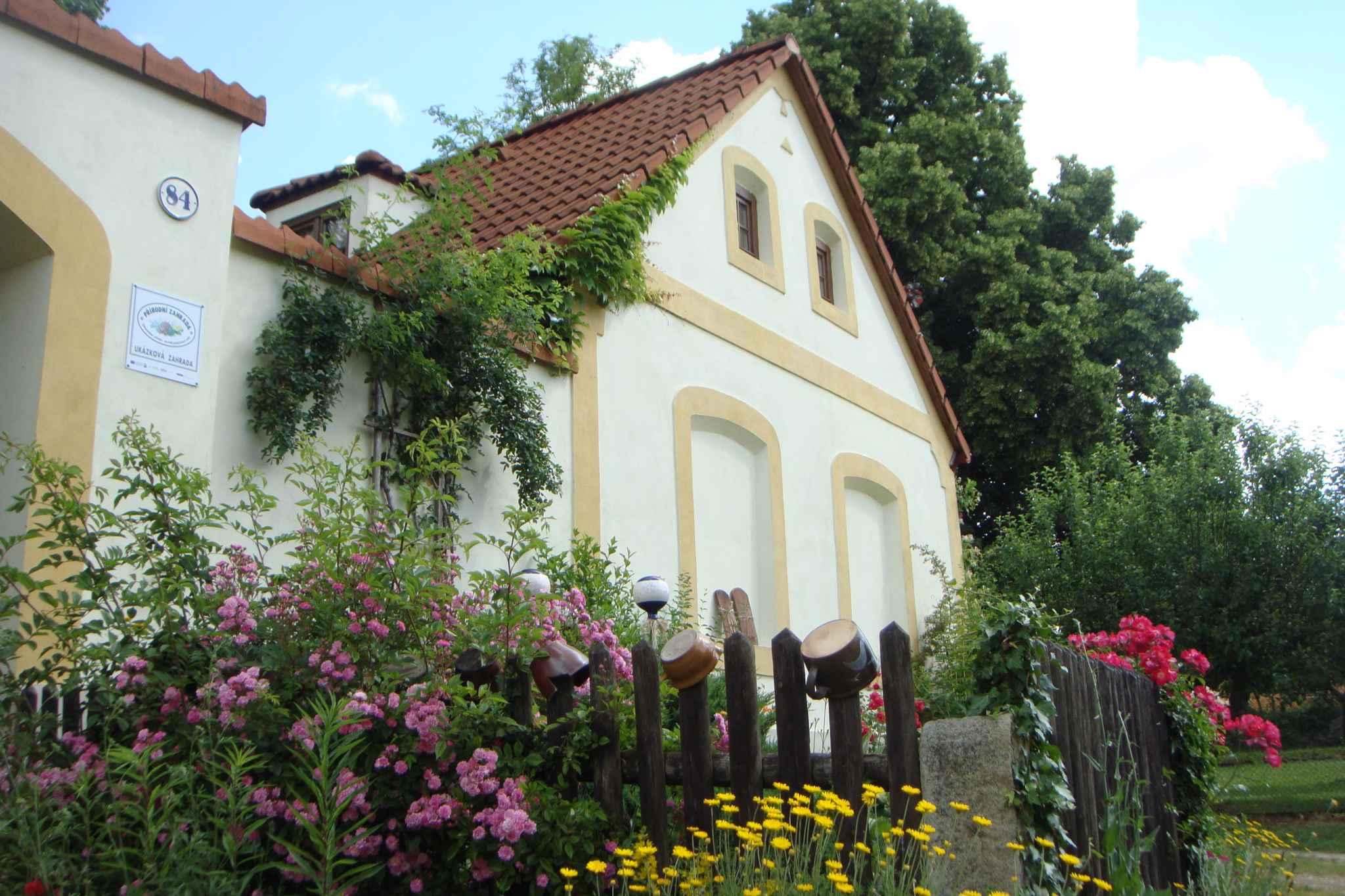 Ferienhaus mit stilvoller Einrichtung