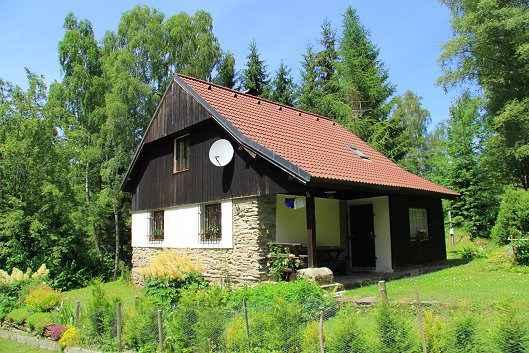 Ferienhaus mit Grillmöglichkeit und Lagerfeuerplatz