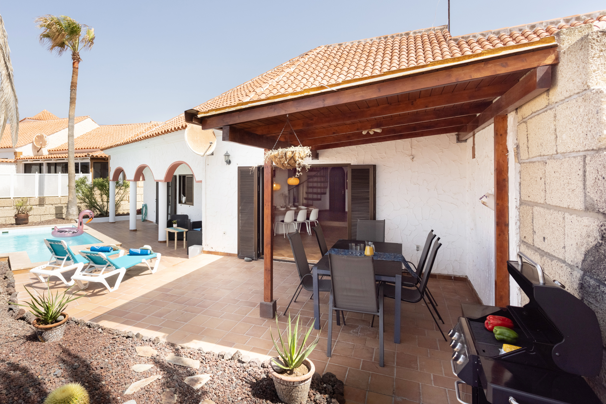 Holiday house direkt am Meer mit eigenem Pool (1671160), Poris de Abona, Tenerife, Canary Islands, Spain, picture 14