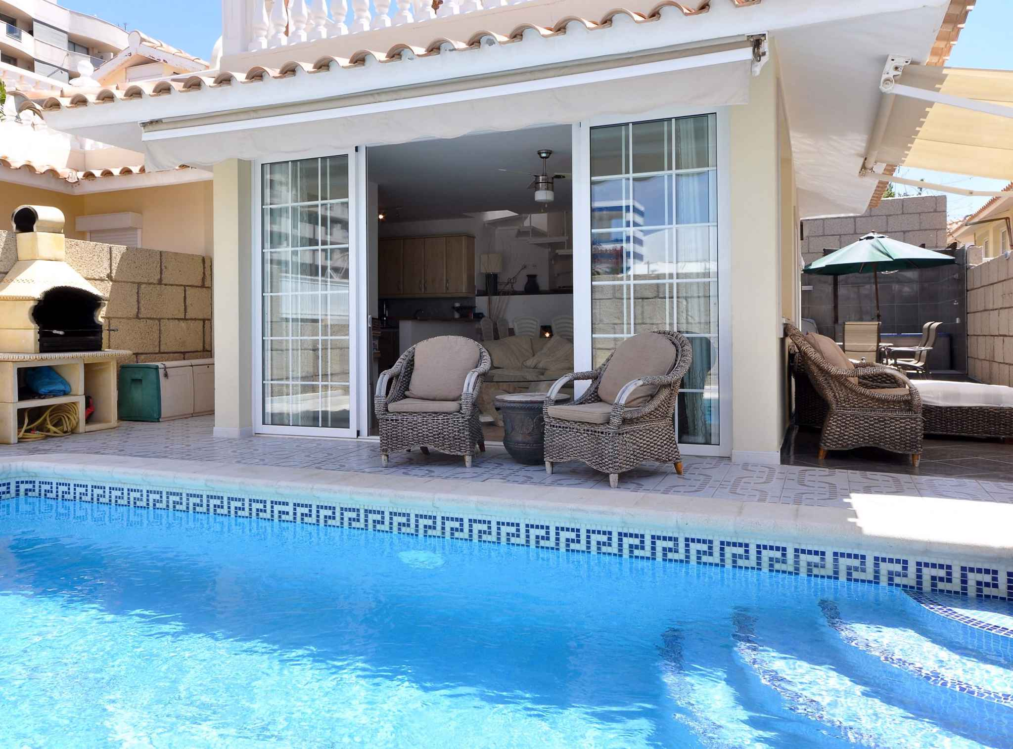 Holiday house mit eigenem Pool und Yacuzzi (1671164), Palm-Mar, Tenerife, Canary Islands, Spain, picture 4