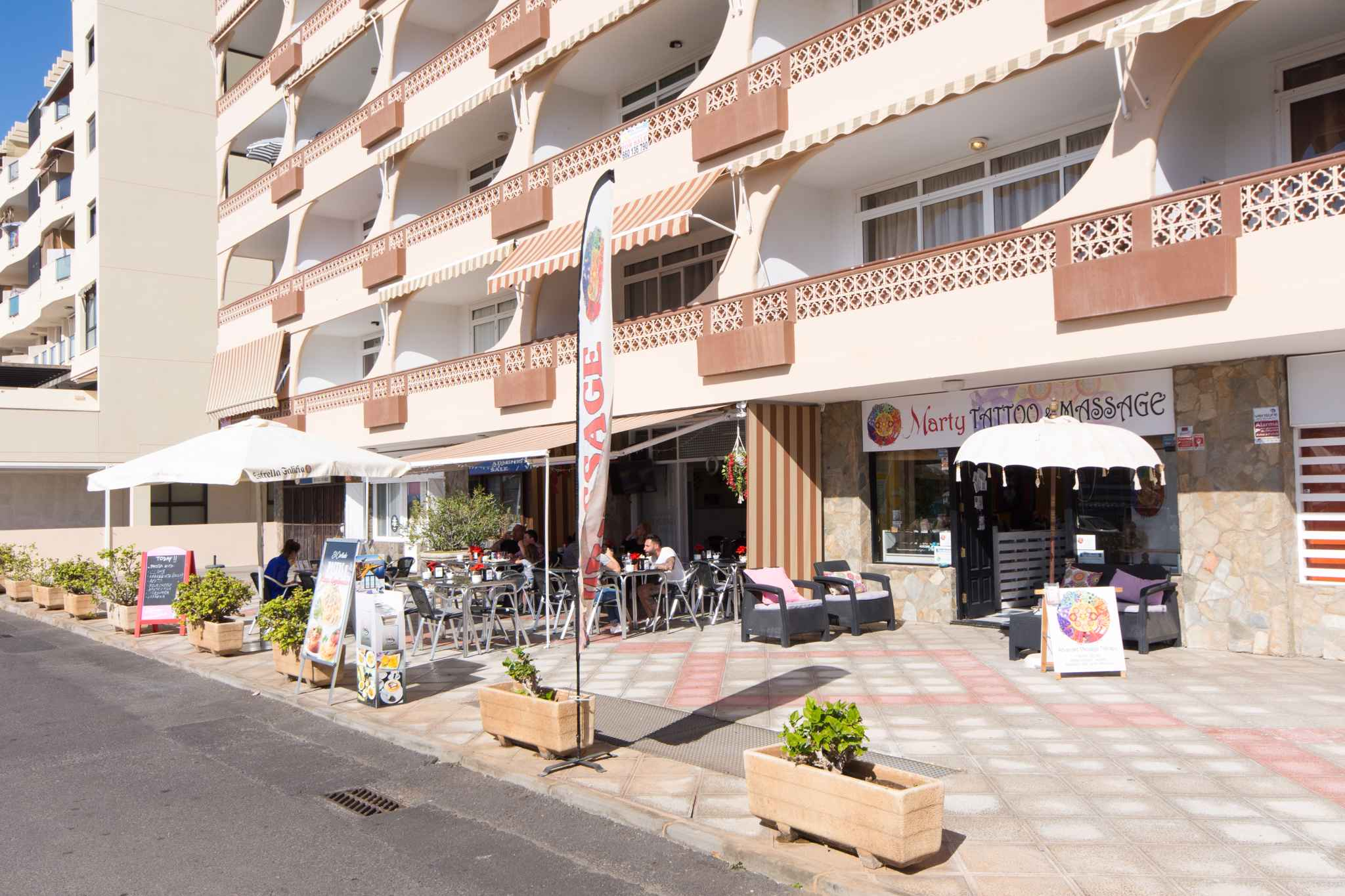 Holiday apartment Penthousewohnung mit freiem Meerblick (1671165), Palm-Mar, Tenerife, Canary Islands, Spain, picture 10