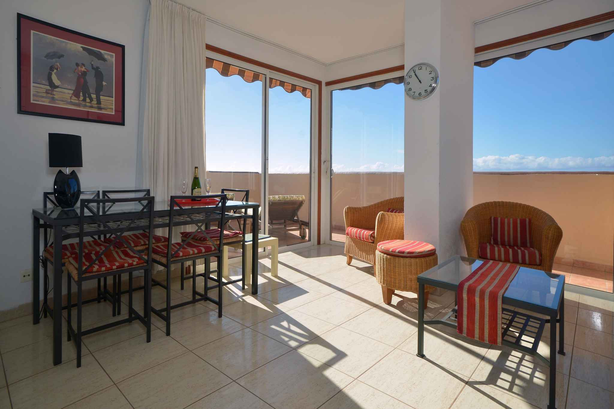 Holiday apartment Penthousewohnung mit freiem Meerblick (1671165), Palm-Mar, Tenerife, Canary Islands, Spain, picture 18