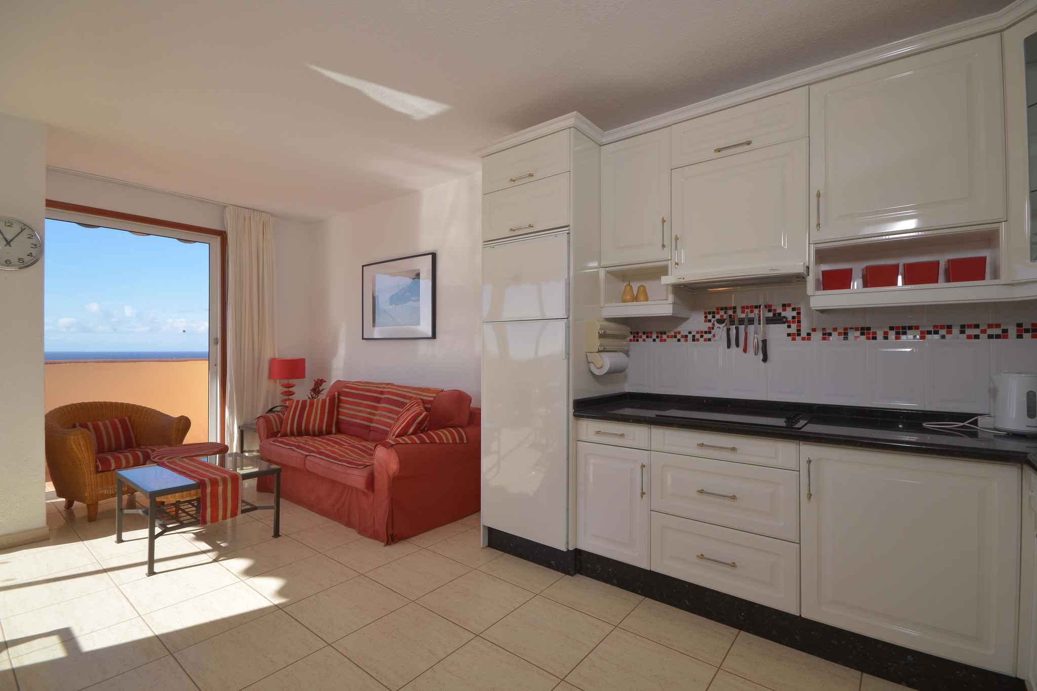 Holiday apartment Penthousewohnung mit freiem Meerblick (1671165), Palm-Mar, Tenerife, Canary Islands, Spain, picture 12