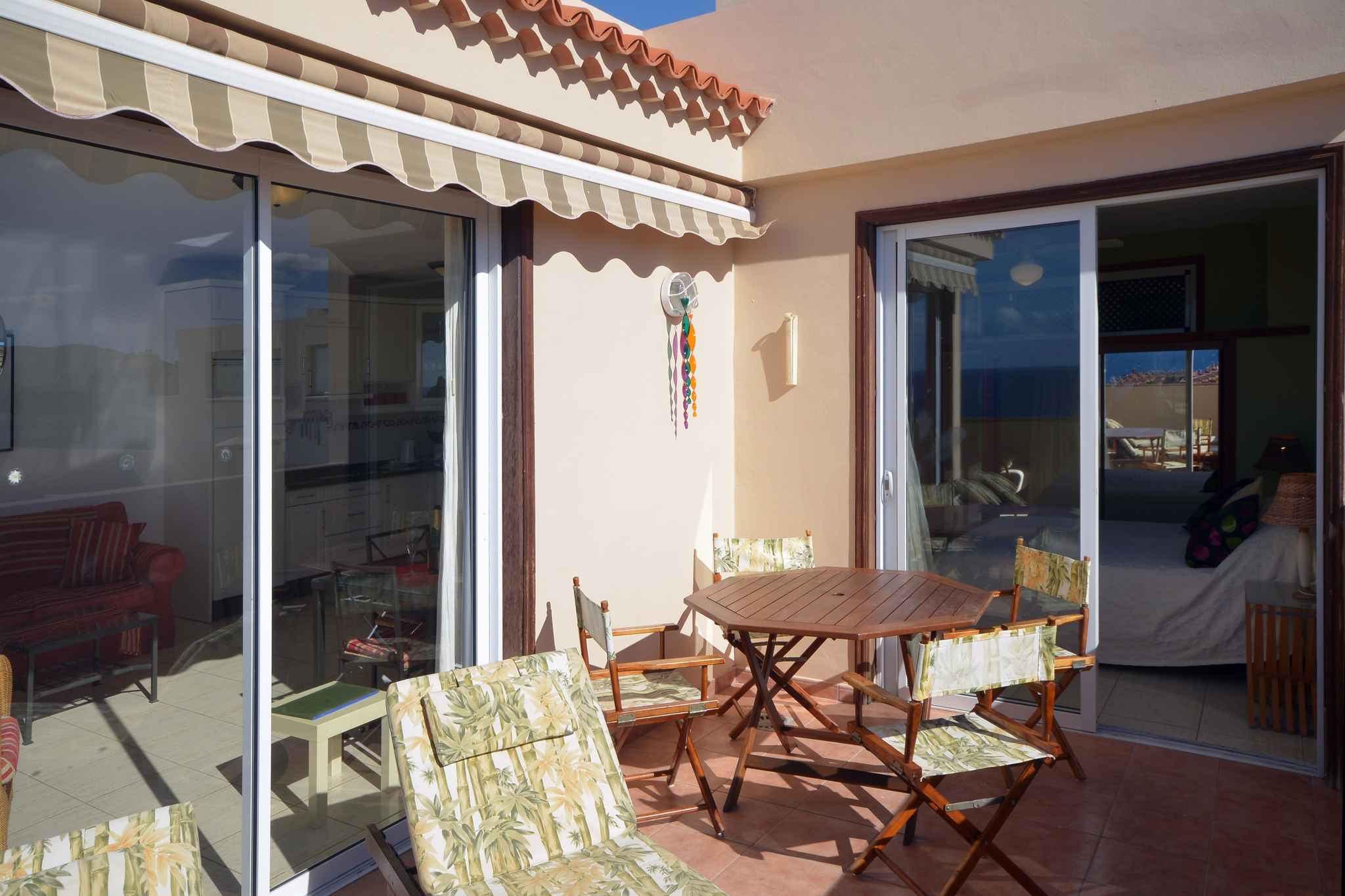 Holiday apartment Penthousewohnung mit freiem Meerblick (1671165), Palm-Mar, Tenerife, Canary Islands, Spain, picture 3