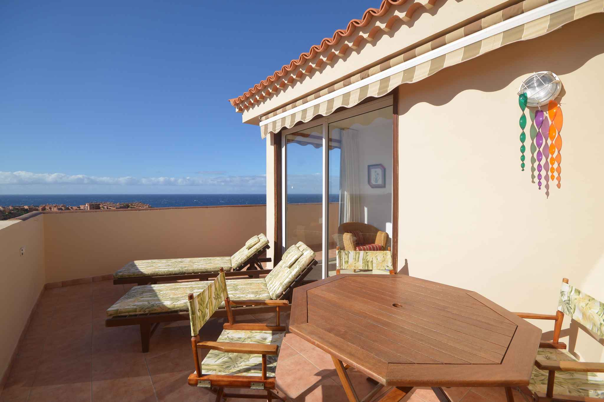 Holiday apartment Penthousewohnung mit freiem Meerblick (1671165), Palm-Mar, Tenerife, Canary Islands, Spain, picture 1
