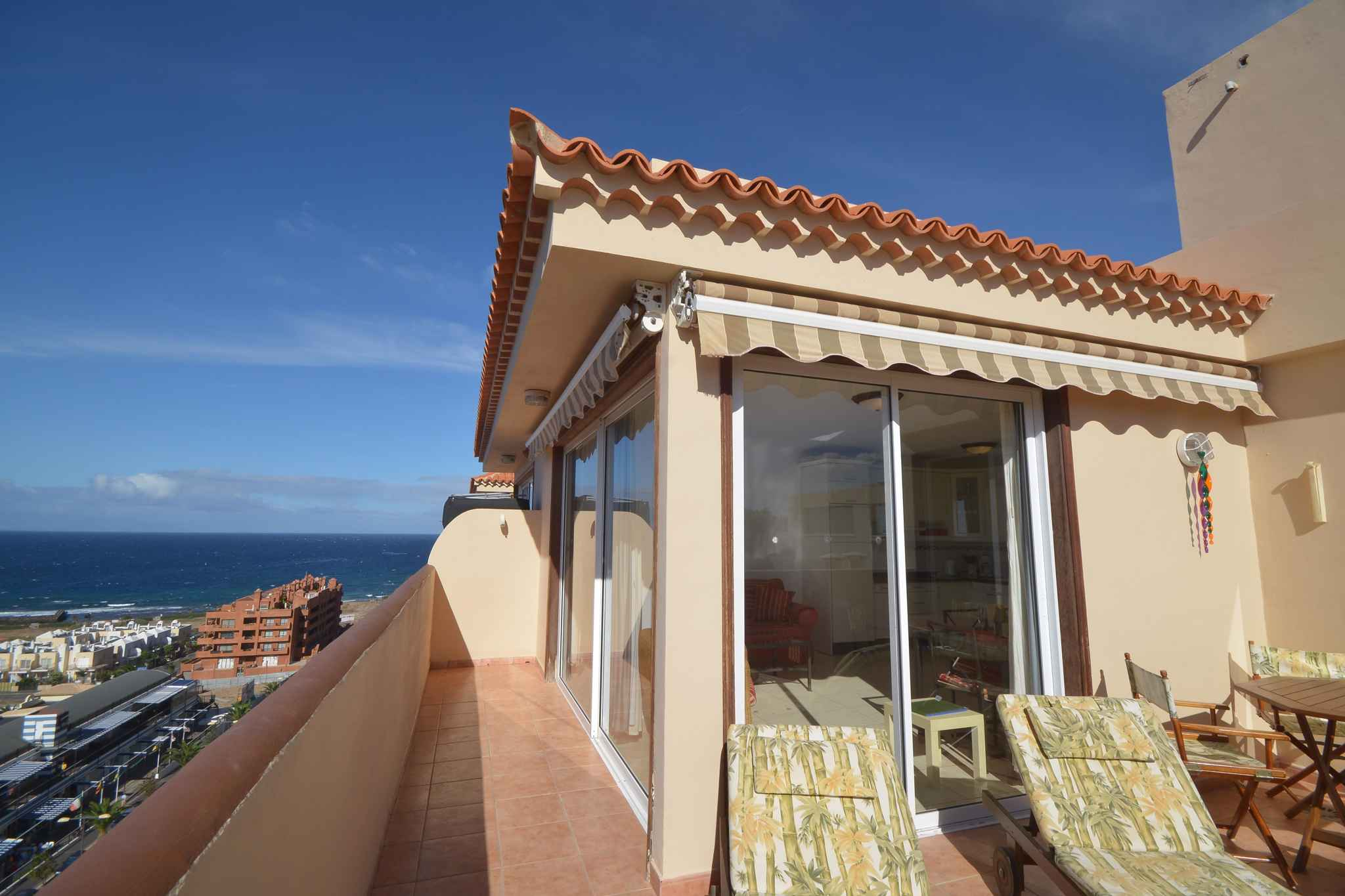 Holiday apartment Penthousewohnung mit freiem Meerblick (1671165), Palm-Mar, Tenerife, Canary Islands, Spain, picture 6