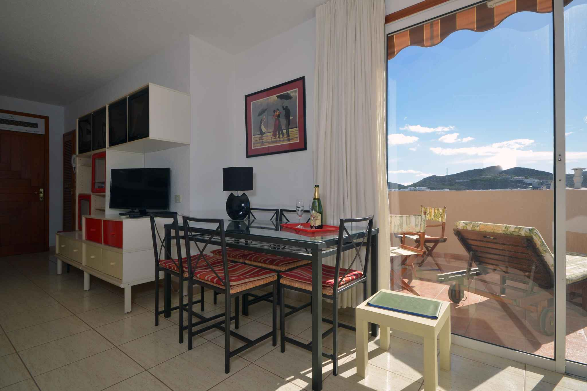 Holiday apartment Penthousewohnung mit freiem Meerblick (1671165), Palm-Mar, Tenerife, Canary Islands, Spain, picture 13