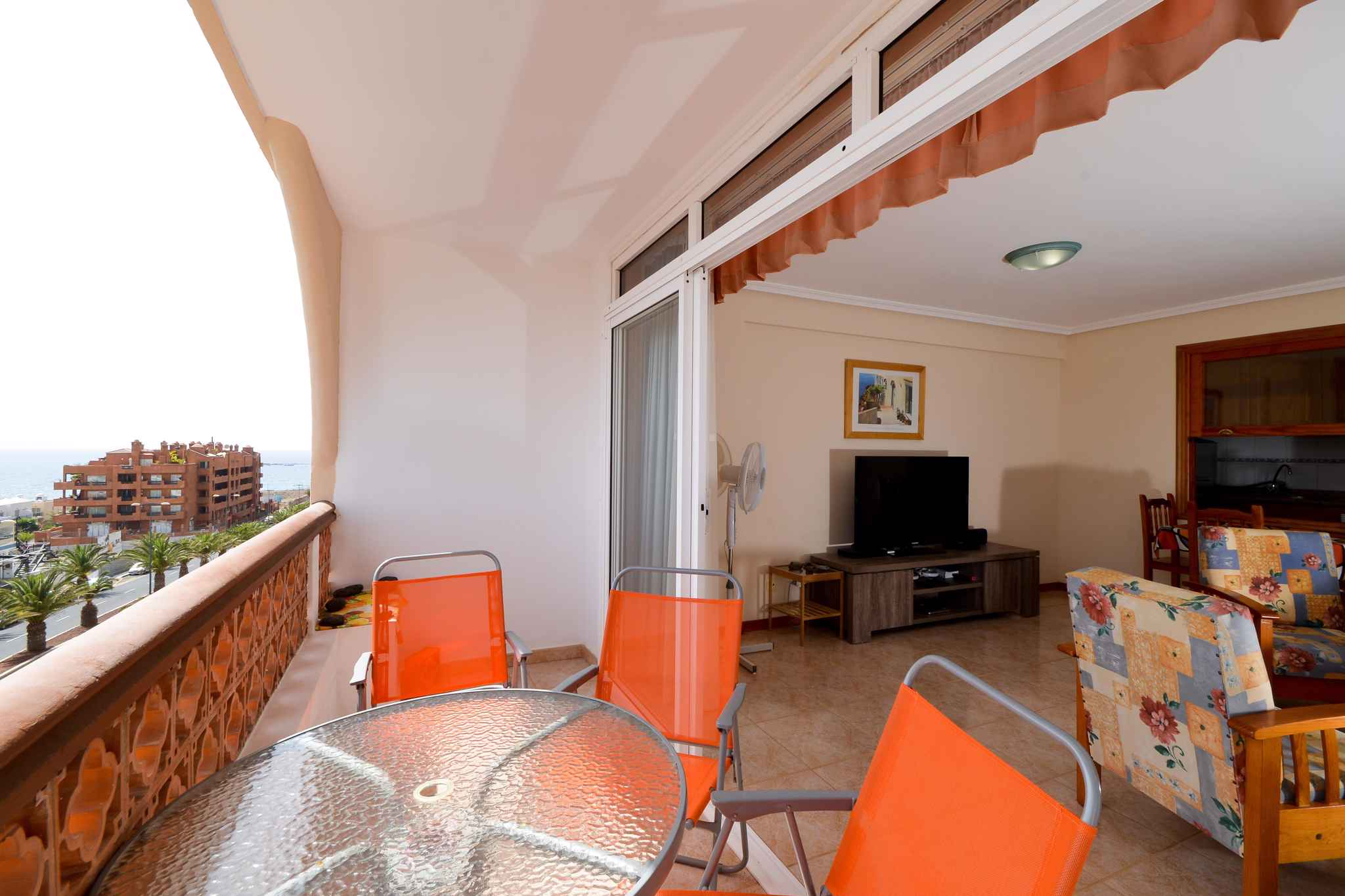 Holiday apartment mit Meerblick und Wifi in Strandnähe (1685535), Palm-Mar, Tenerife, Canary Islands, Spain, picture 7