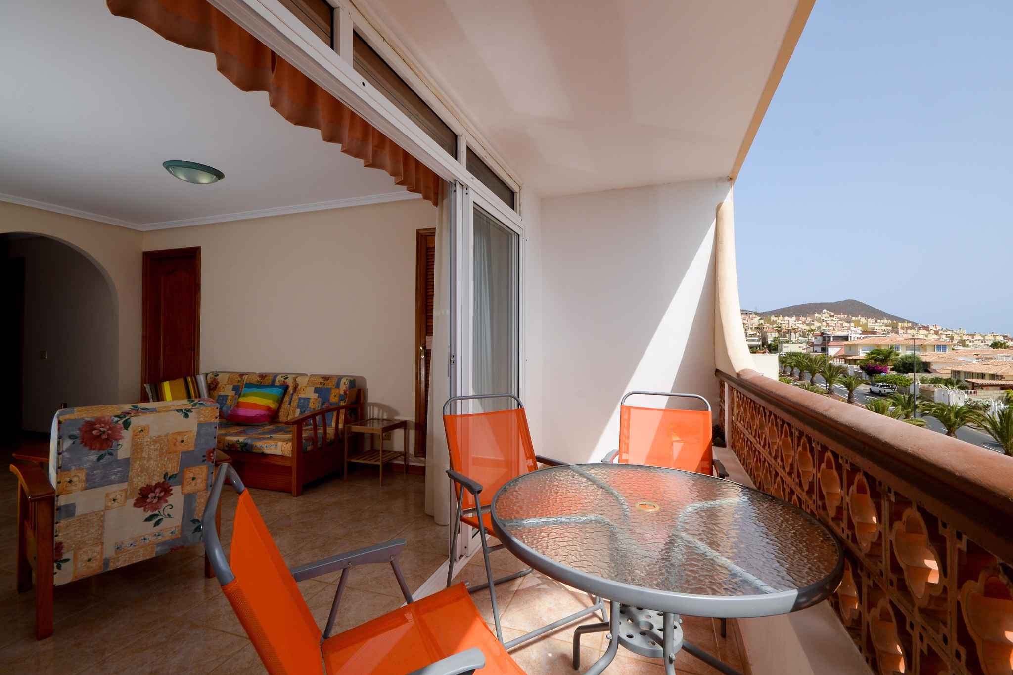 Holiday apartment mit Meerblick und Wifi in Strandnähe (1685535), Palm-Mar, Tenerife, Canary Islands, Spain, picture 8