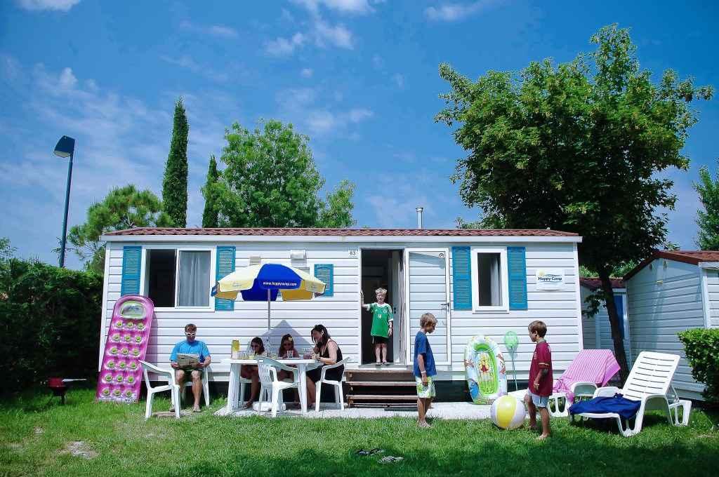 FerienHaus auf dem Campingplatz Serenella*** Ferienhaus  Gardasee - Lago di Garda