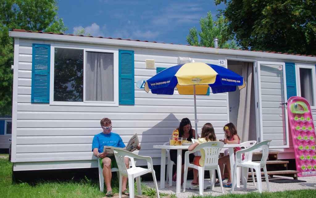 FerienHaus auf dem Campingplatz Serenella*** Ferienhaus  Bardolino