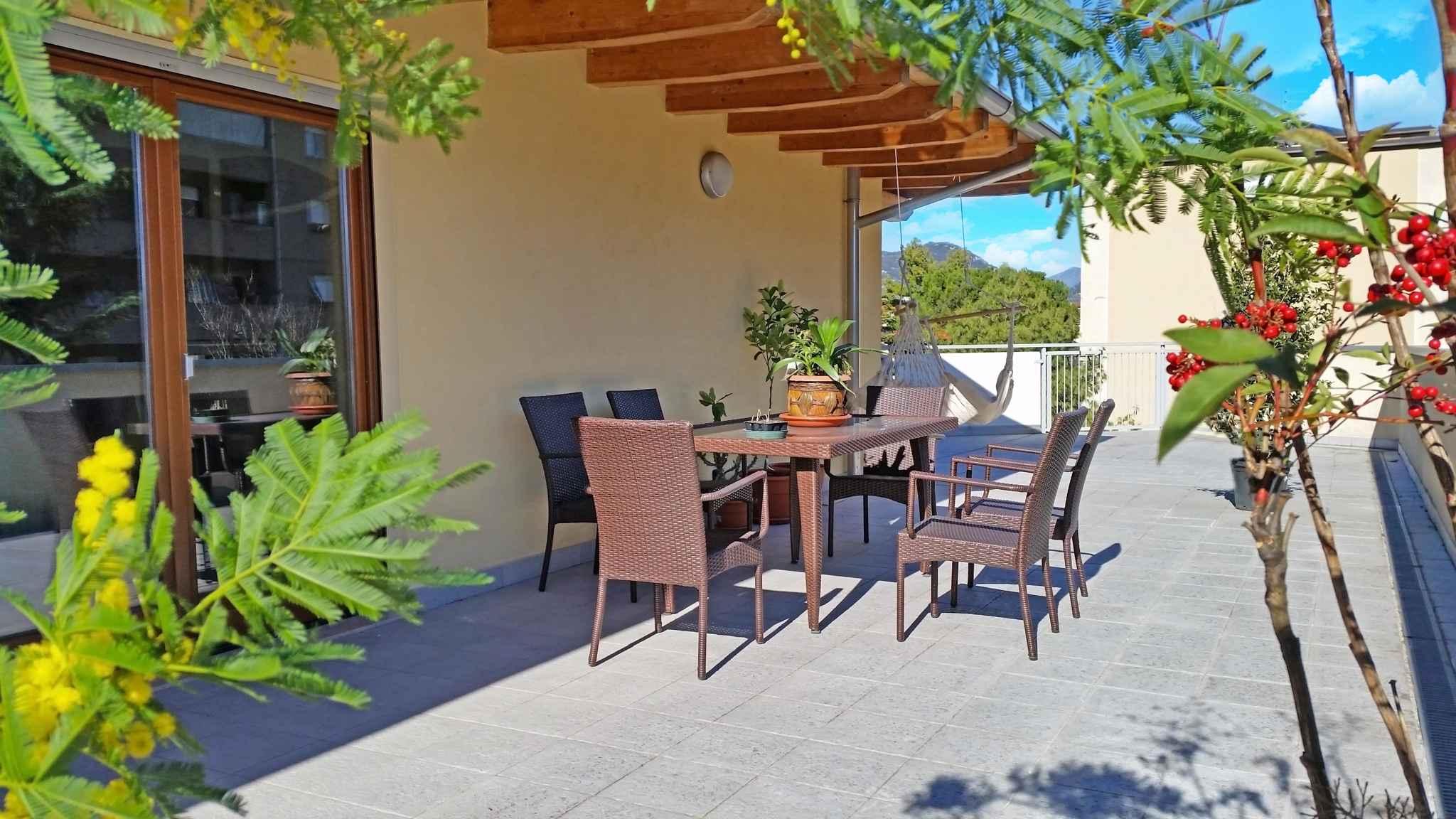 Ferienwohnung mit Terrasse und Parkplatz   Gardasee - Lago di Garda