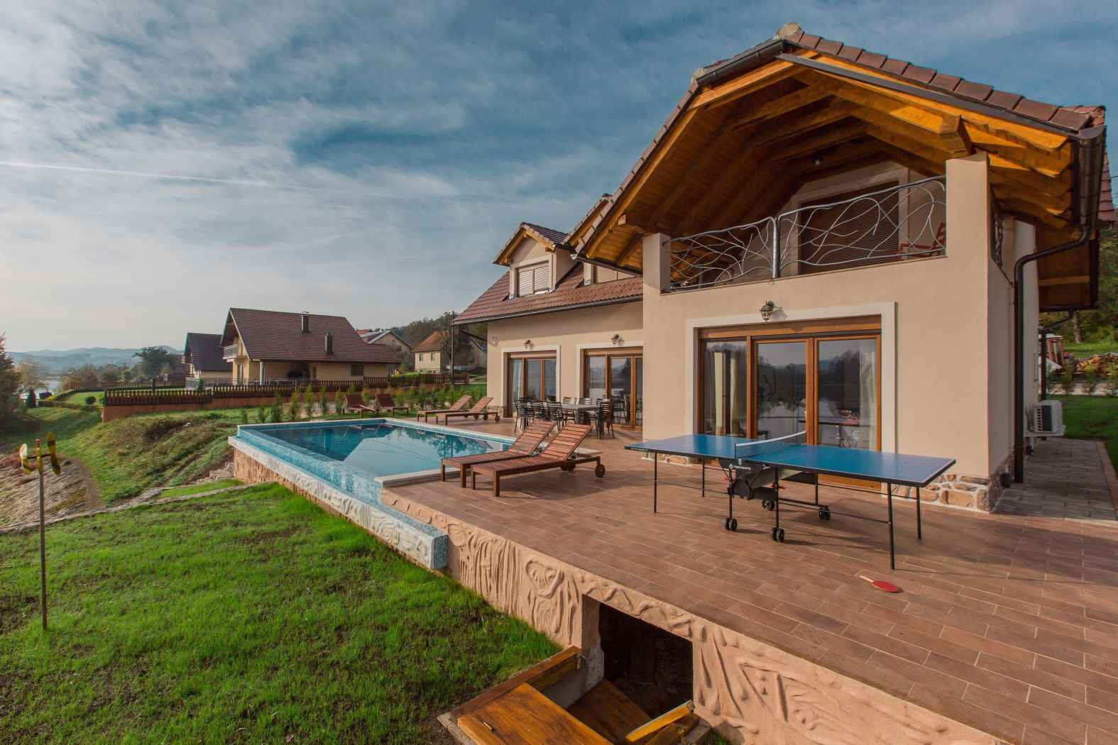 Ferienhaus mit Pool am See gelegen (2047240), Ogulin, , Mittelkroatien, Kroatien, Bild 6