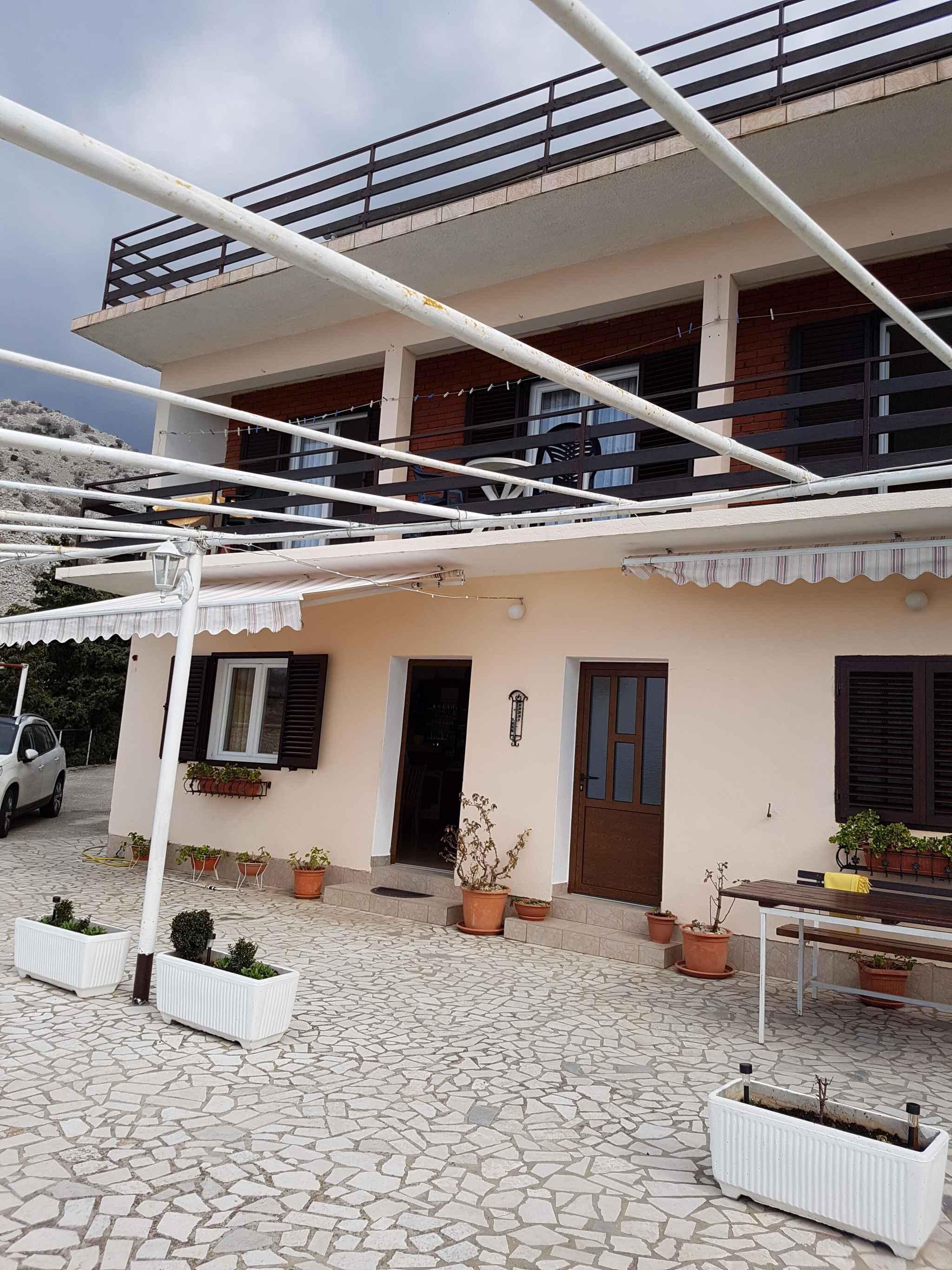 Ferienwohnung mit Klimaanlage direkt am Meer  in Kroatien