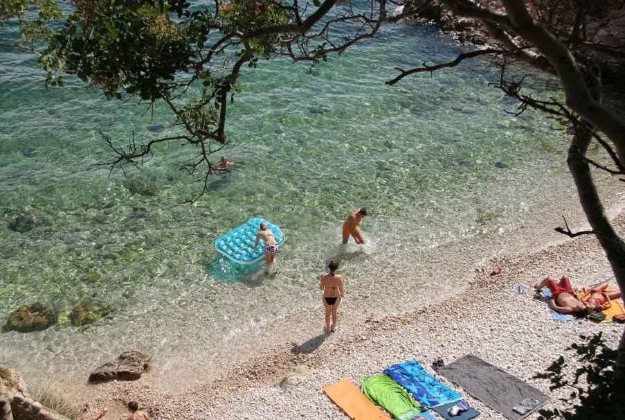 Appartement de vacances nahe von Meer, WI-FI, Klima (2182509), Novi Vinodolski, , Kvarner, Croatie, image 19