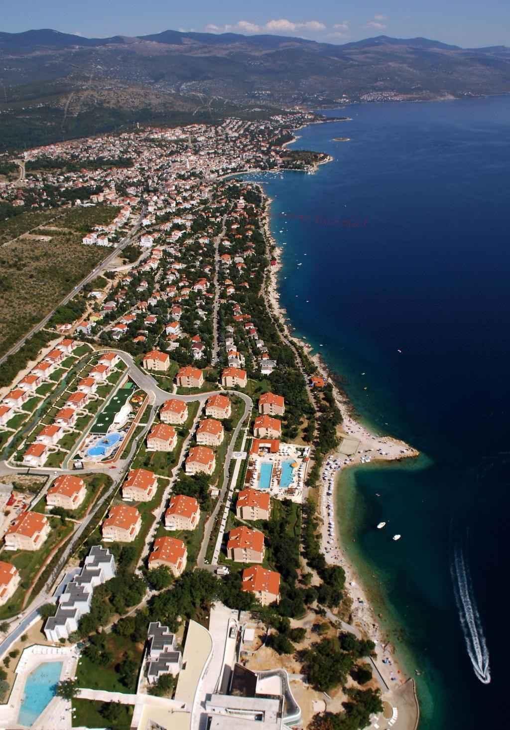 Appartement de vacances nahe von Meer, WI-FI, Klima (2182509), Novi Vinodolski, , Kvarner, Croatie, image 8