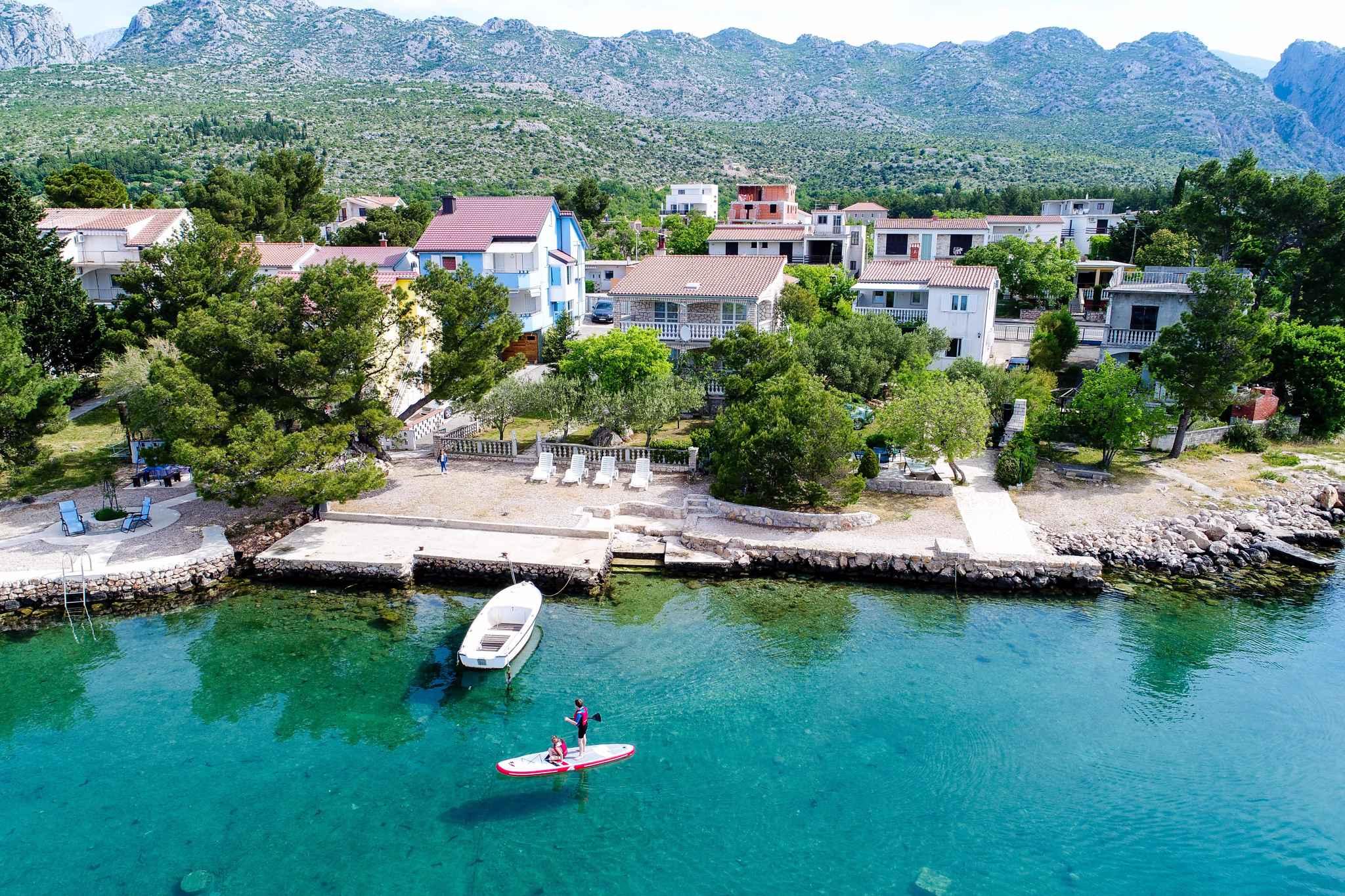 Ferienwohnung mit Panoramameerblick (287921), Starigrad Paklenica, , Dalmatien, Kroatien, Bild 1