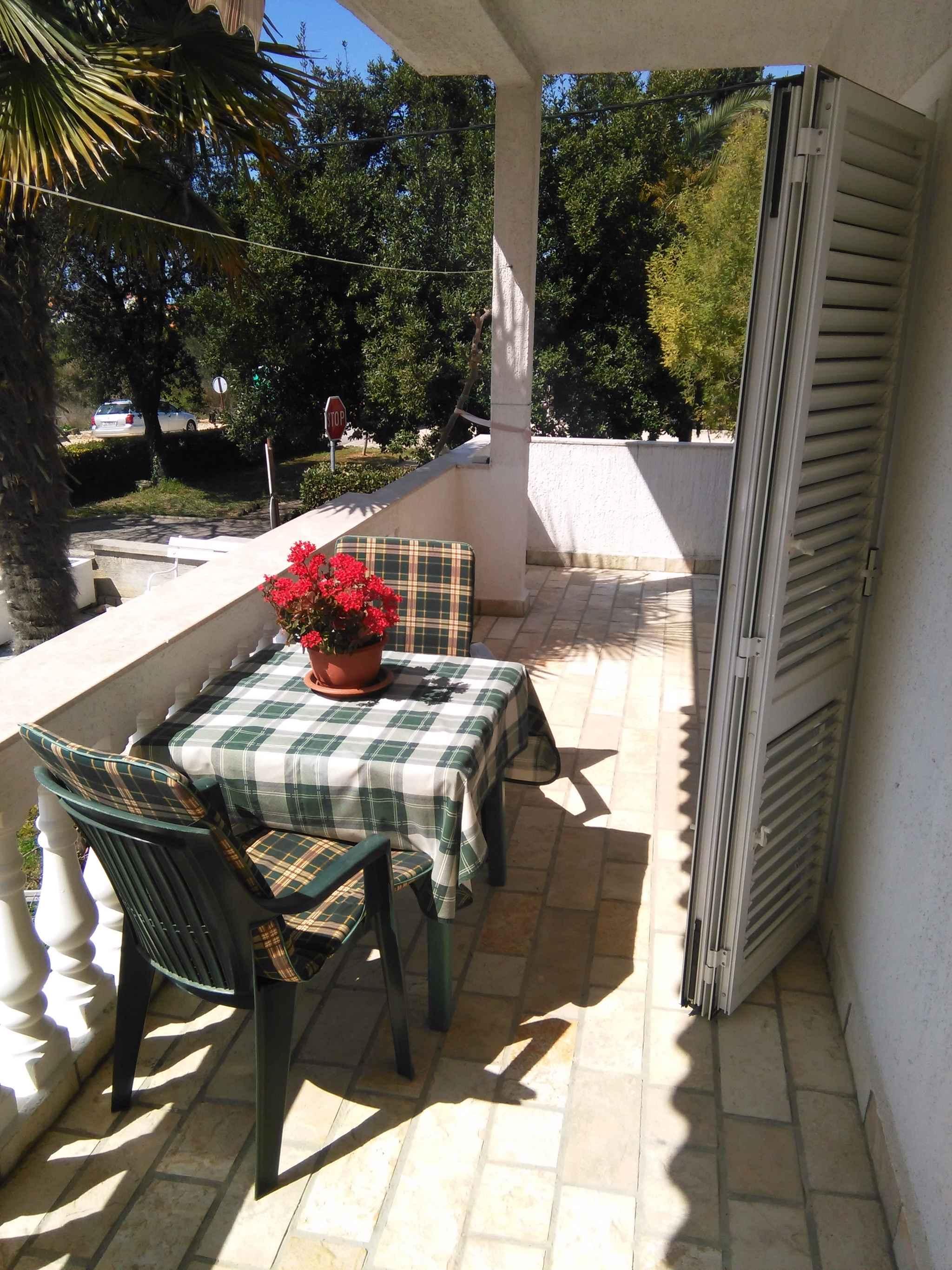 Ferienwohnung Studio mit grosser Terrasse (278911), Zadar, , Dalmatien, Kroatien, Bild 8
