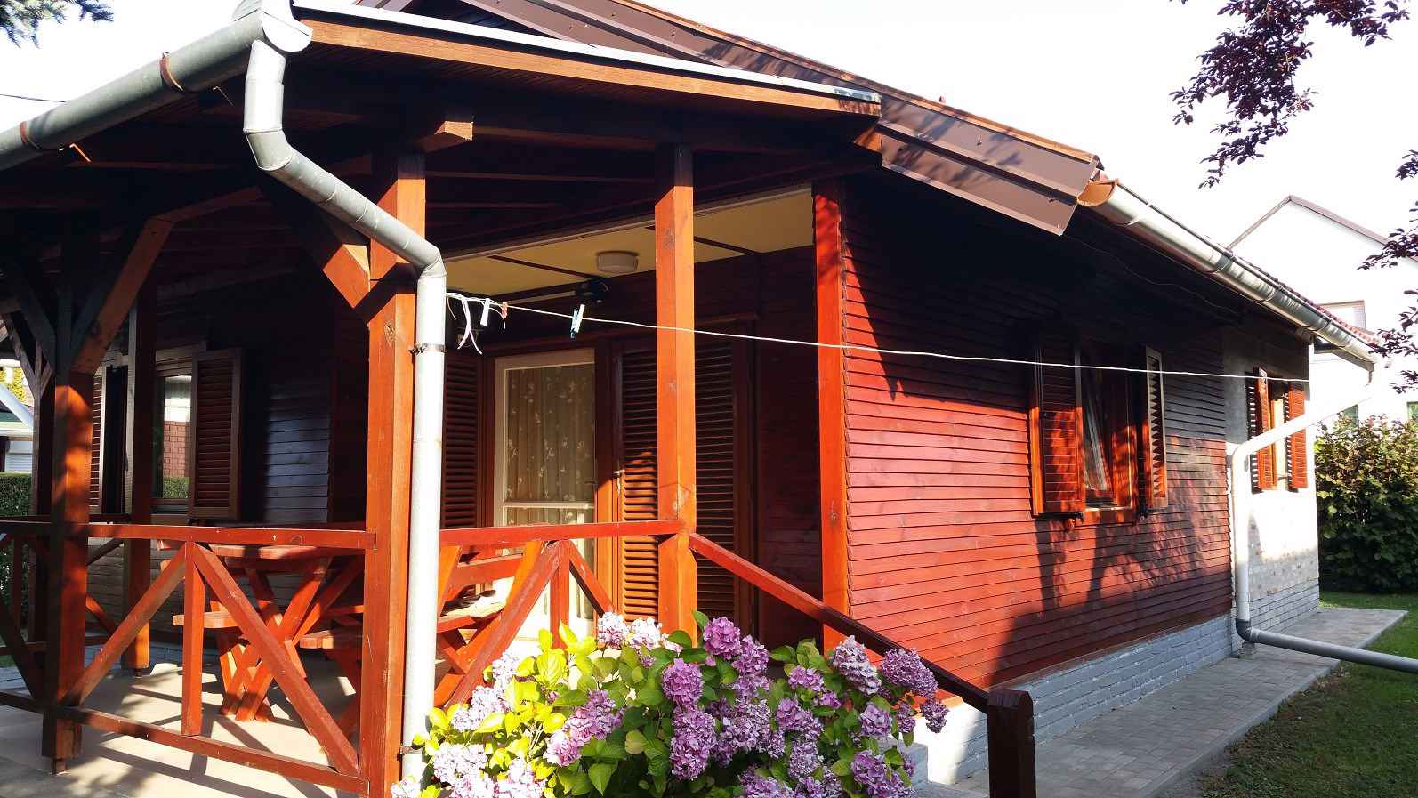 Ferienhaus mit 2 großen Terrassen