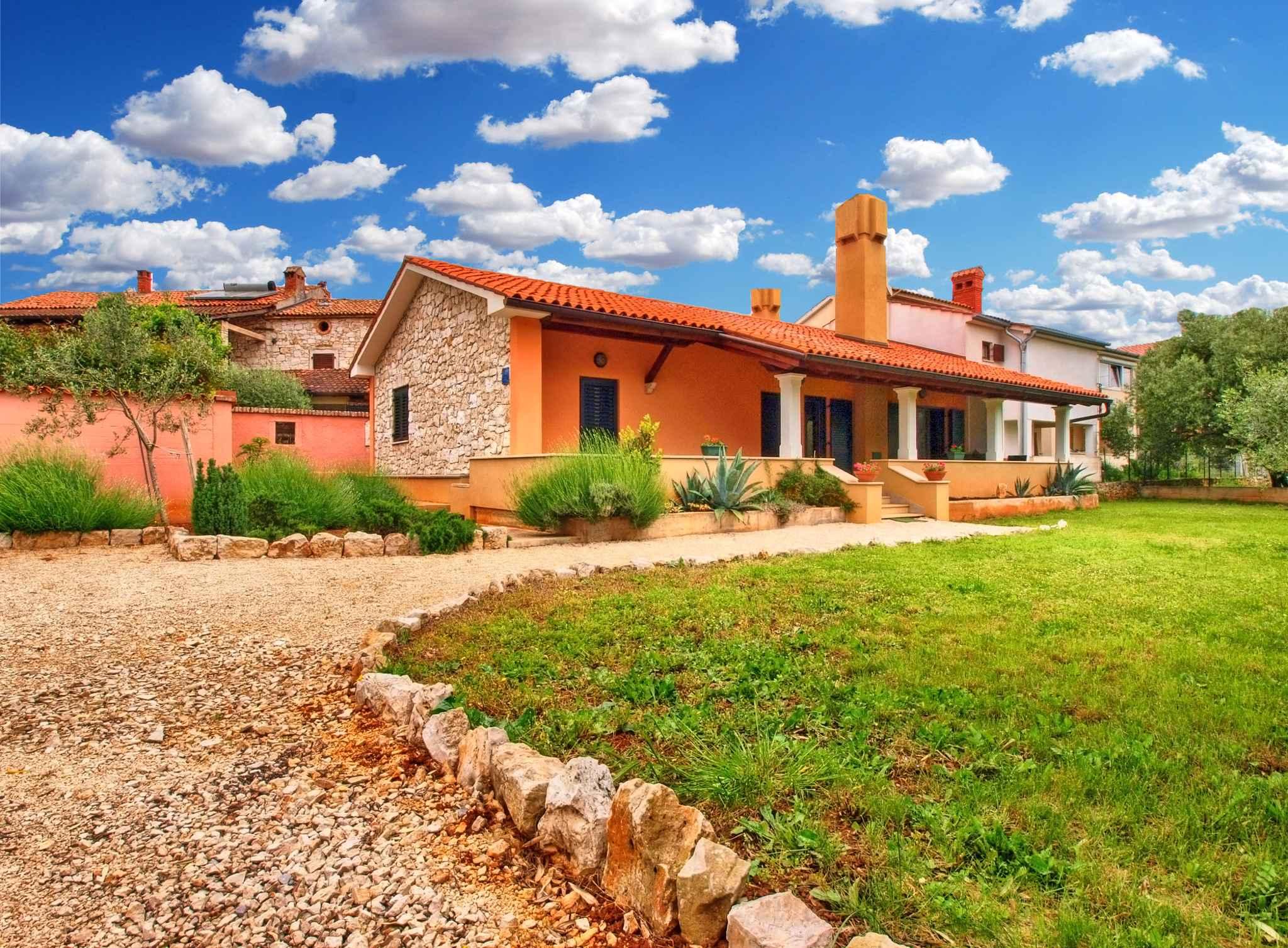 Ferienhaus mit Terrasse und Klimaanlage Ferienhaus in Kroatien