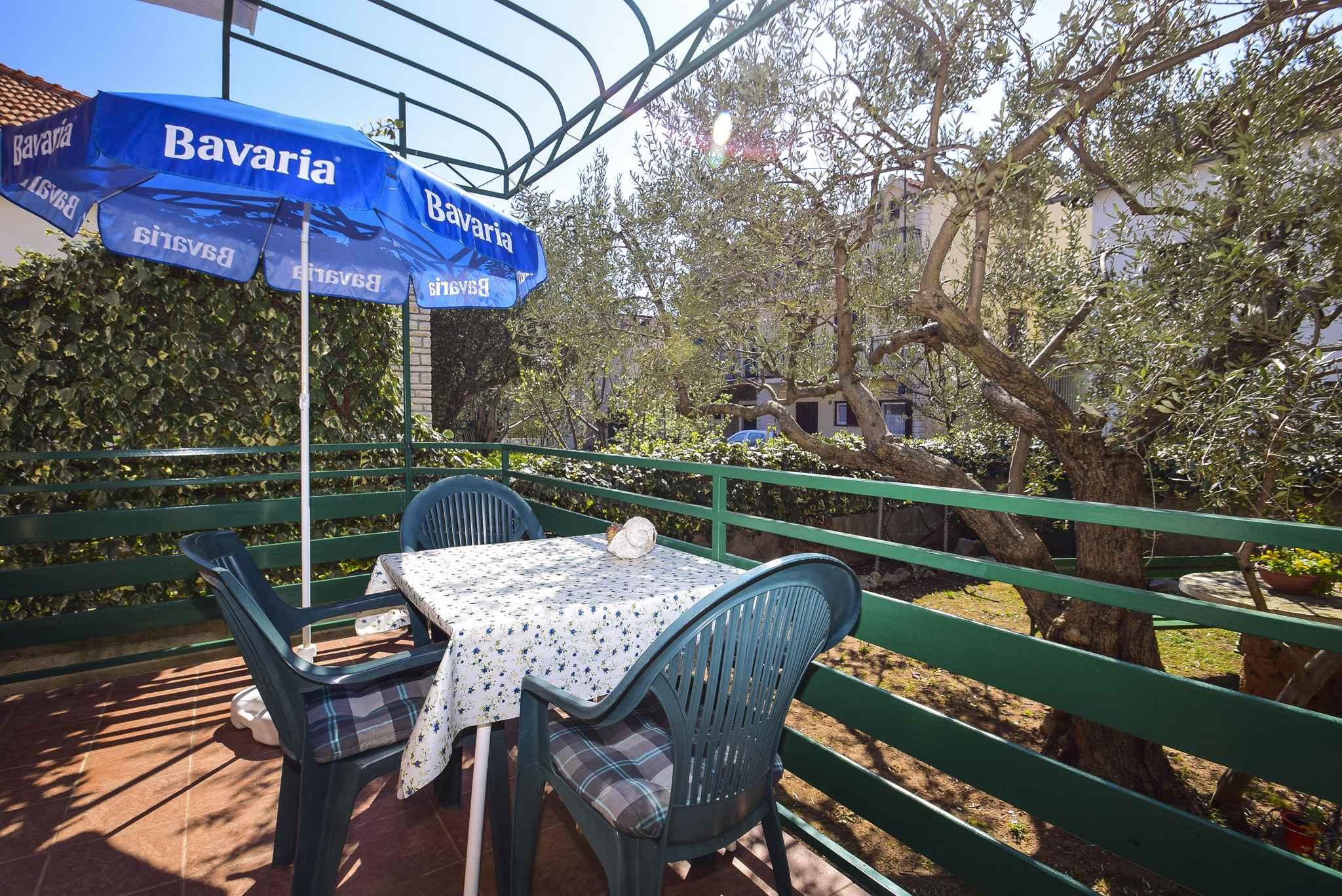Ferienwohnung mit überdachter Terrasse (278787), Vodice, , Dalmatien, Kroatien, Bild 4