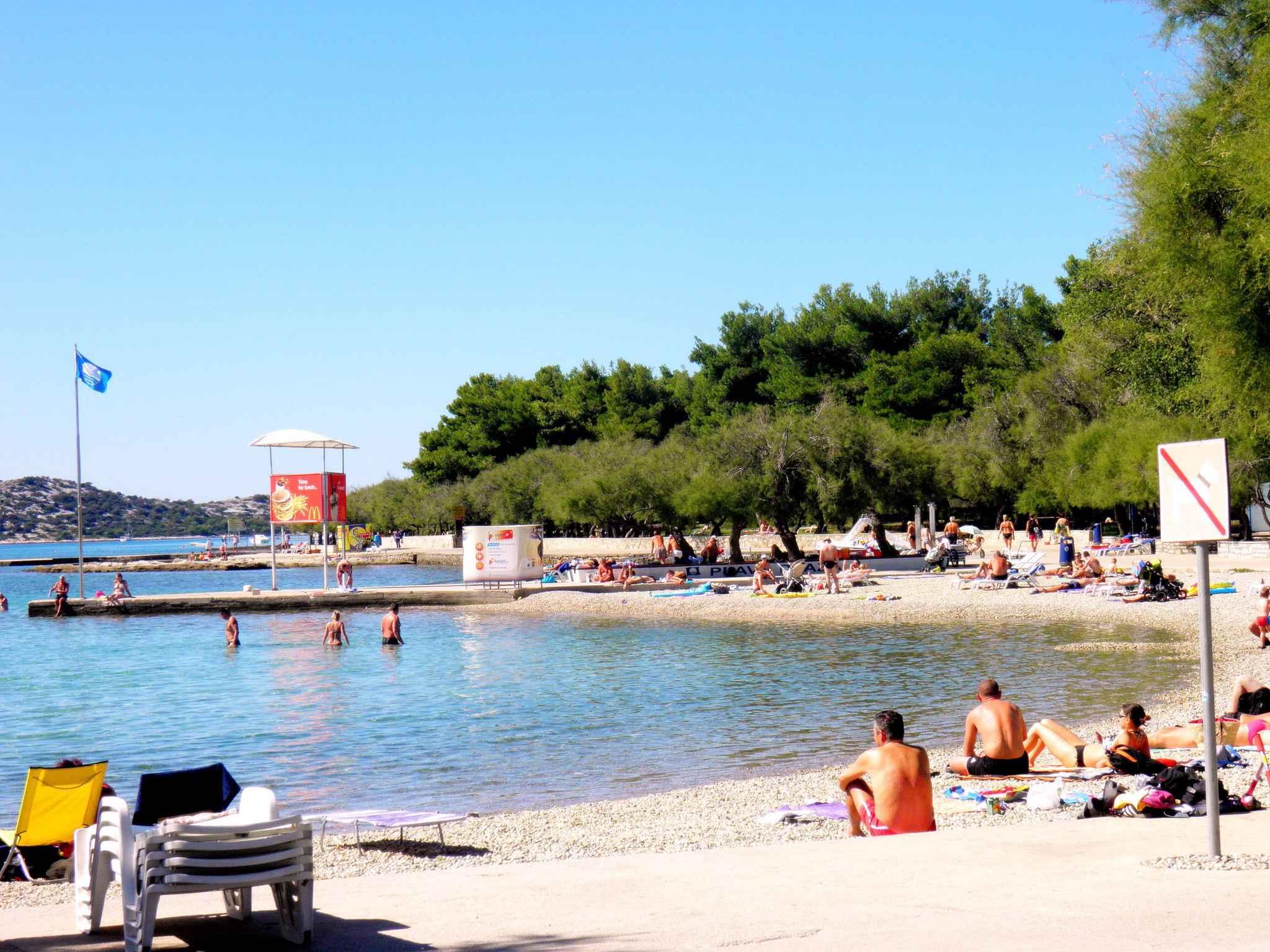 Ferienwohnung mit 15 qm Terrasse (278773), Vodice, , Dalmatien, Kroatien, Bild 10