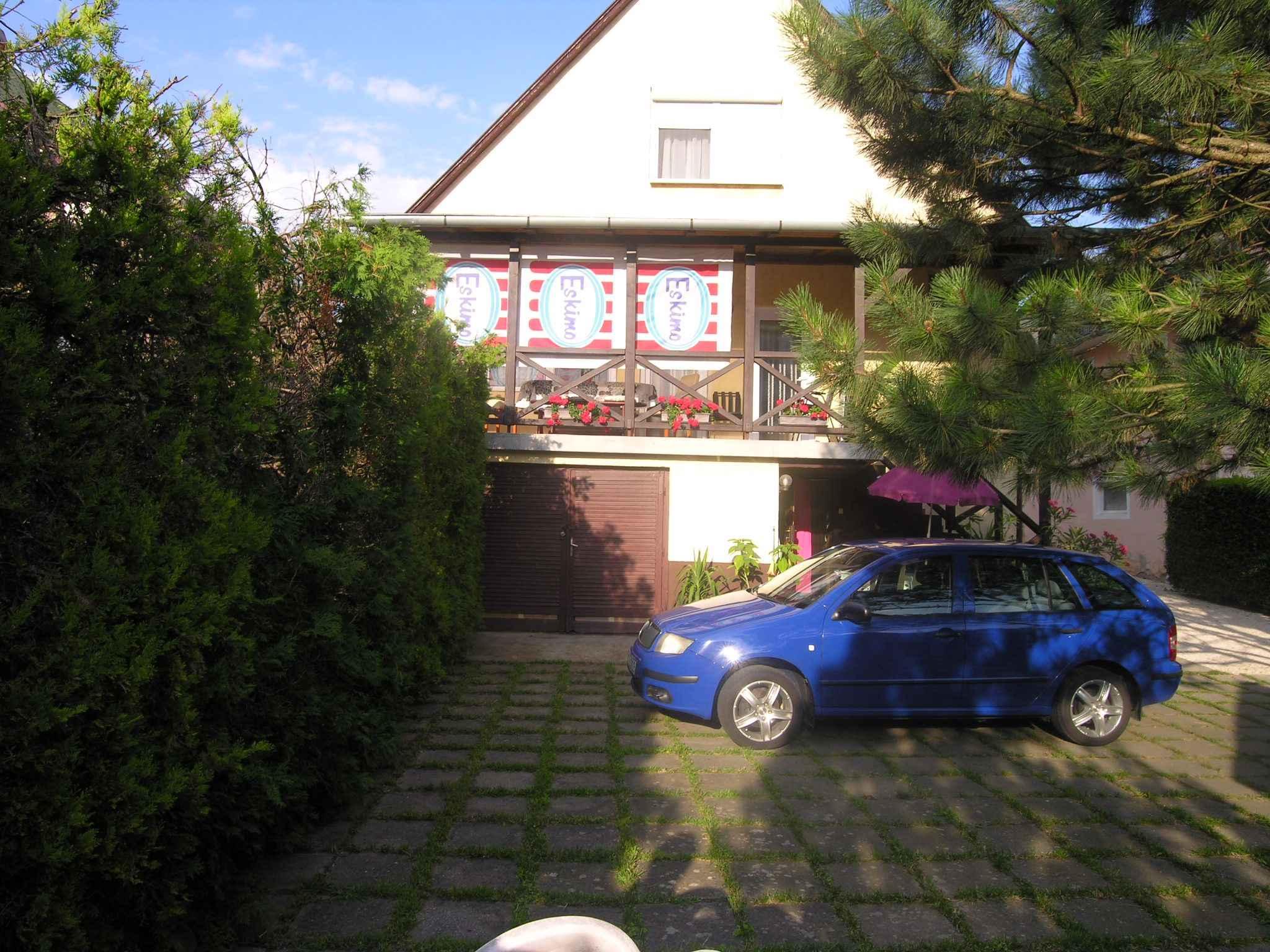 Ferienhaus mit grossem Garten, WLAN und Waschmasch Ferienhaus  Balatonlelle