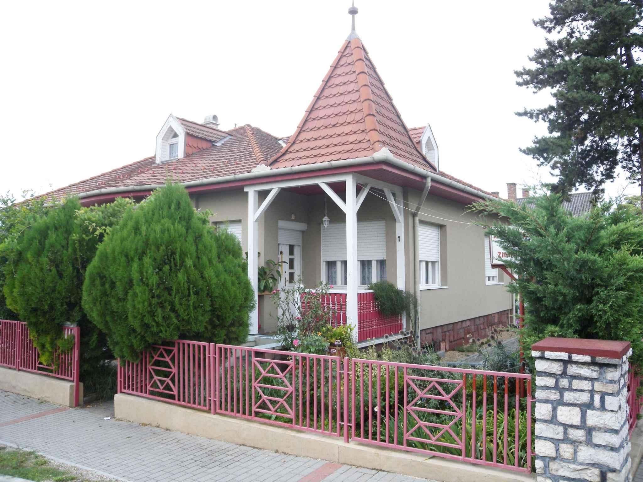 Ferienhaus in der Ferienzone von Siófok