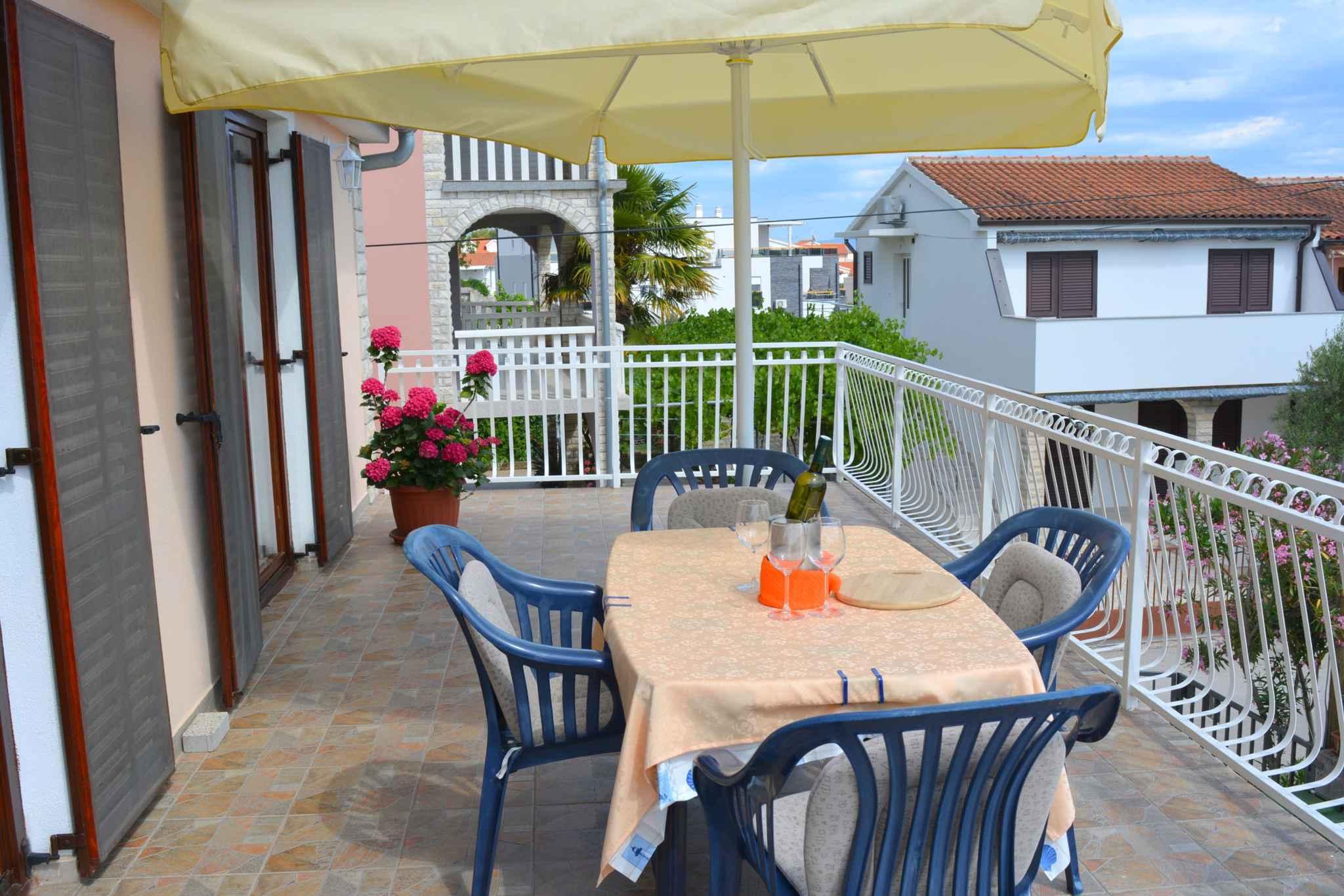 Ferienwohnung mit 25 qm großem Balkon und Klimaanlage (278782), Vodice, , Dalmatien, Kroatien, Bild 5